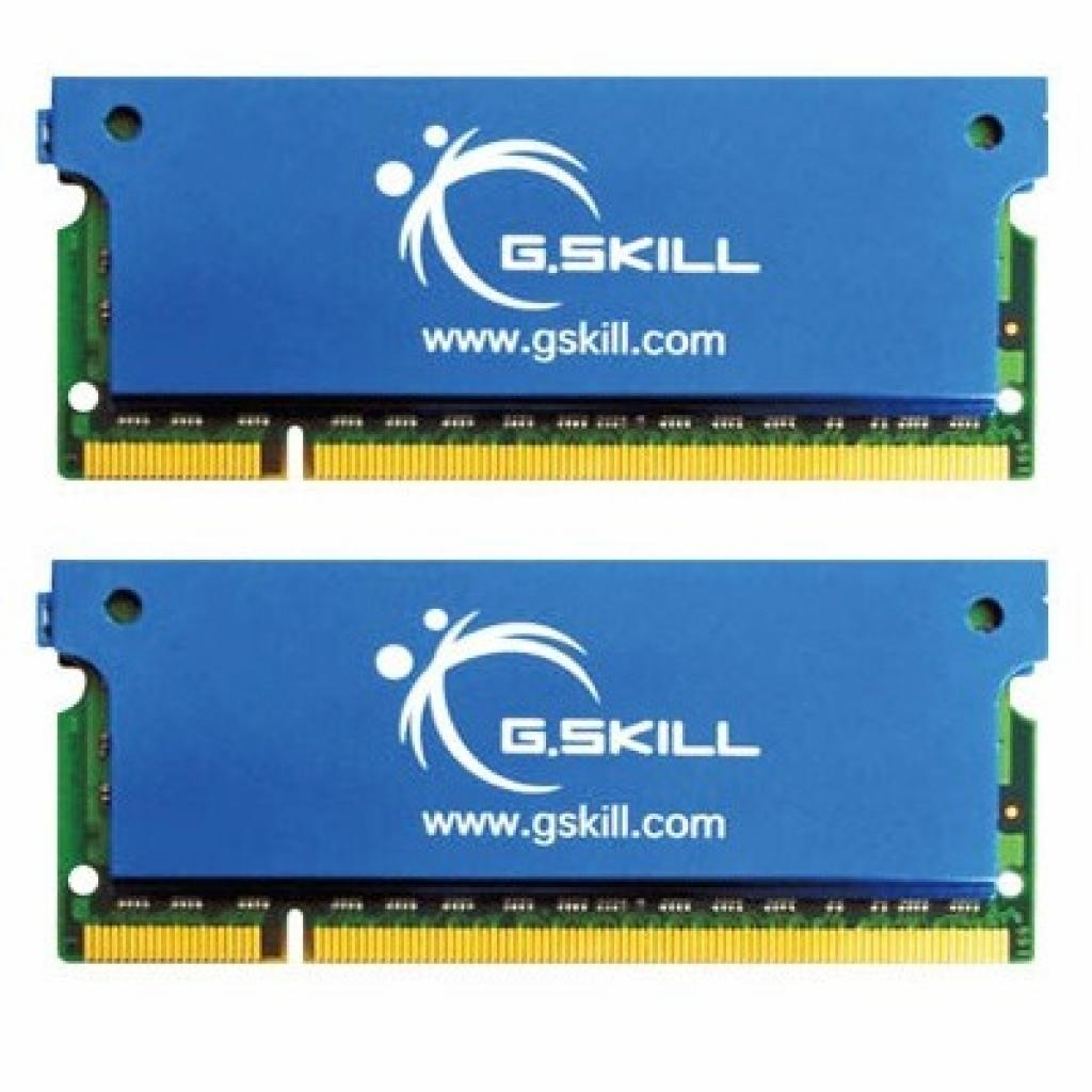 Модуль памяти для ноутбука SoDIMM DDR2 4GB(2x2GB) 667 MHz G.Skill (F2-5300CL5D-4GBSK)