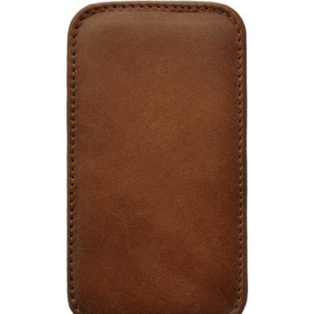 Чехол для моб. телефона KeepUp для LG Optimus L5 (E612) Brown/FLIP (00-00007513)