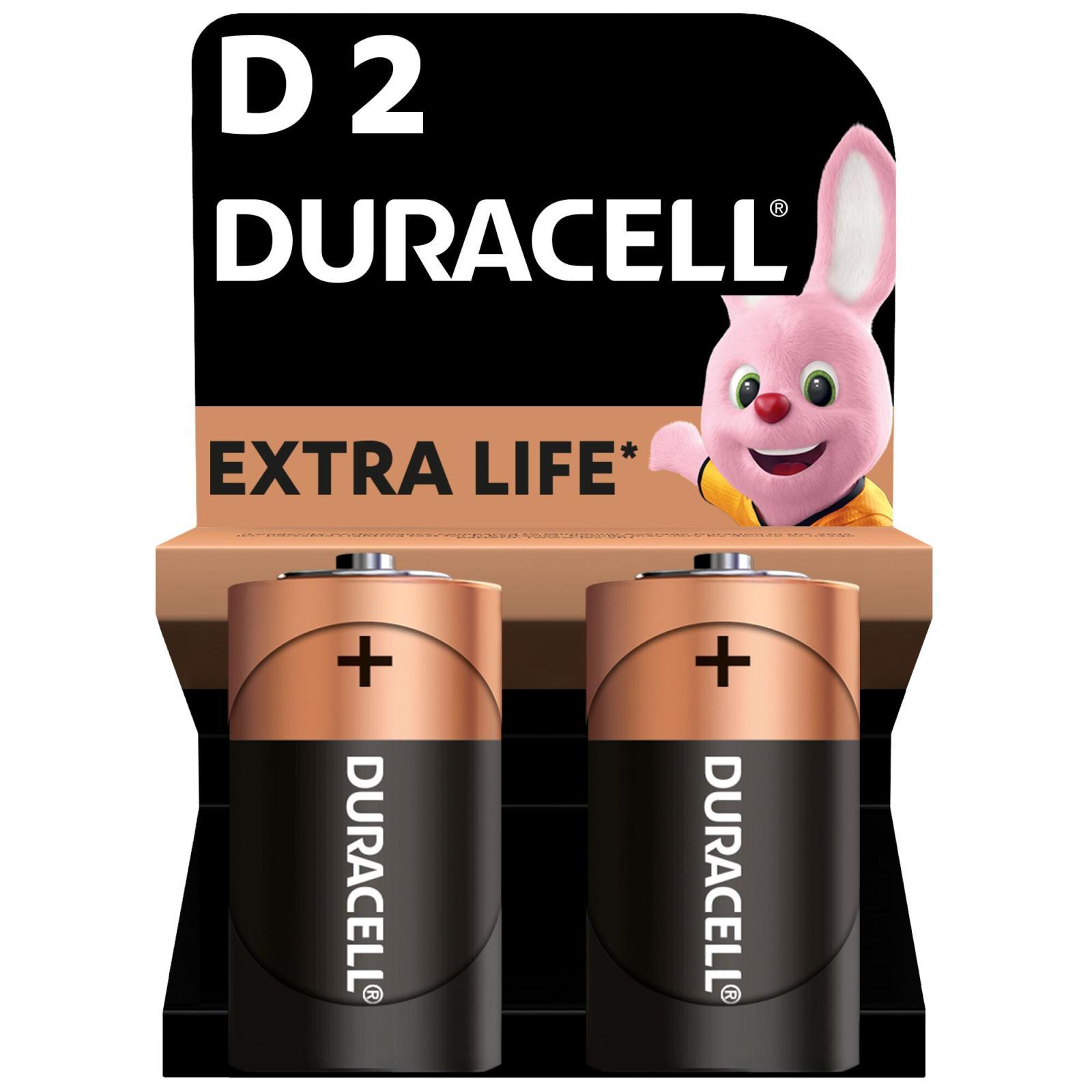Батарейка Duracell D LR20 * 2 (5000394052512 / 81483648)