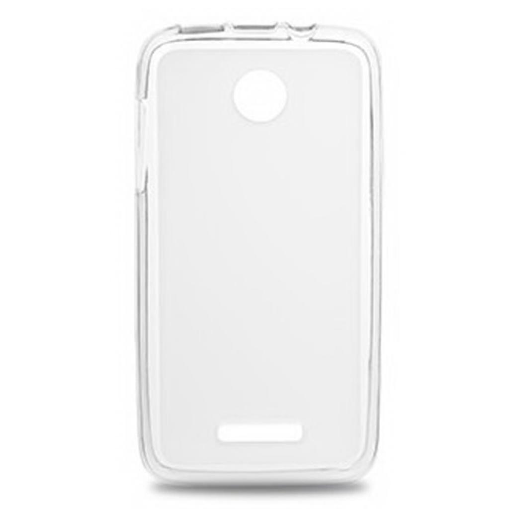 Чехол для моб. телефона Drobak для Lenovo A390 (White Clear)Elastic PU (211447)