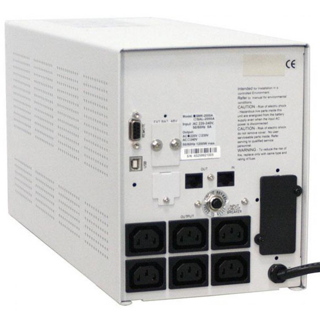 Источник бесперебойного питания Powercom SMK-1500A-LCD изображение 3