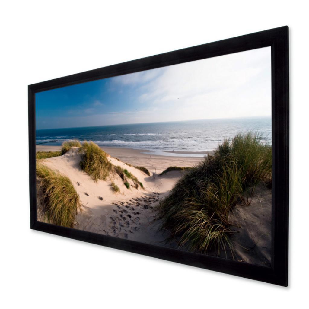 Проекционный экран Projecta PermScreen Deluxe 162x279 см, HCCV (10630234) изображение 2