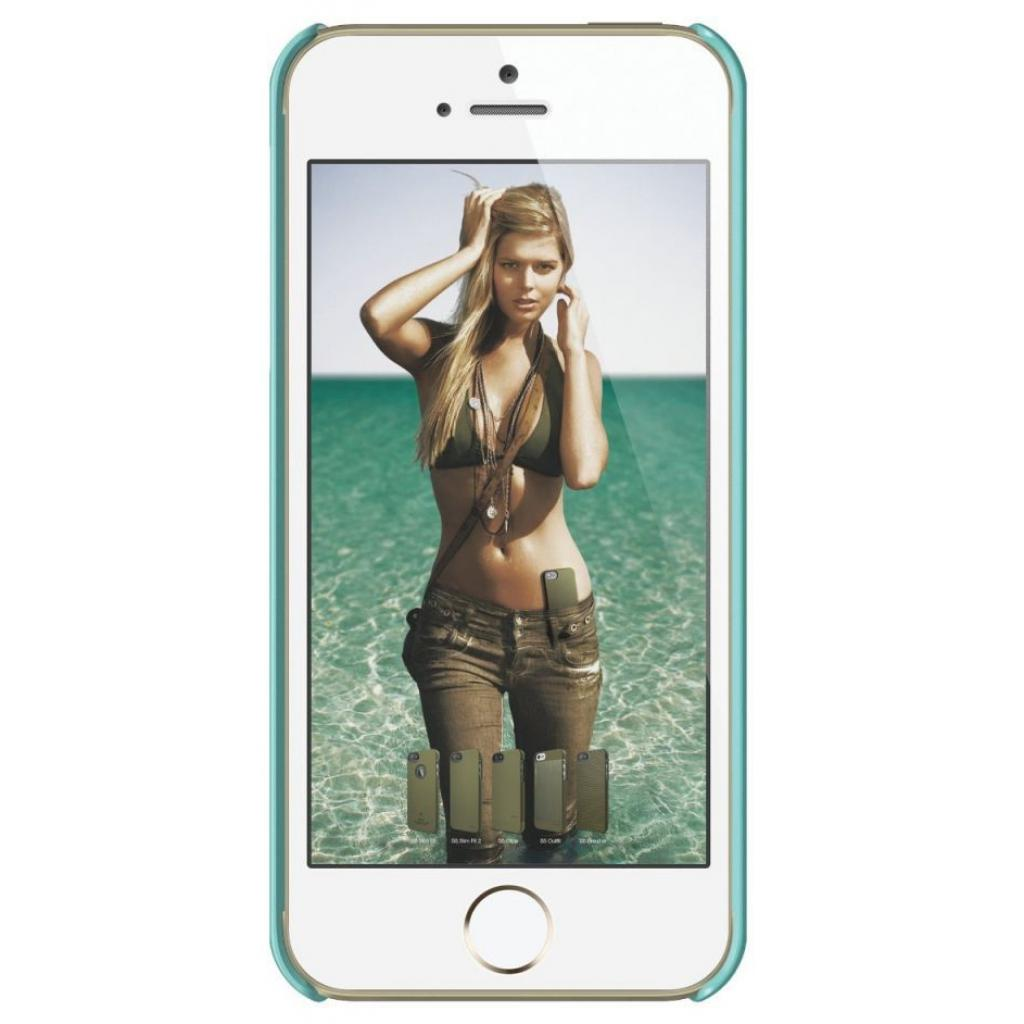 Чехол для моб. телефона ELAGO для iPhone 5/5S /Slim Fit Glossy/Coral Blue (ELS5SM-SFGD-RT) изображение 2