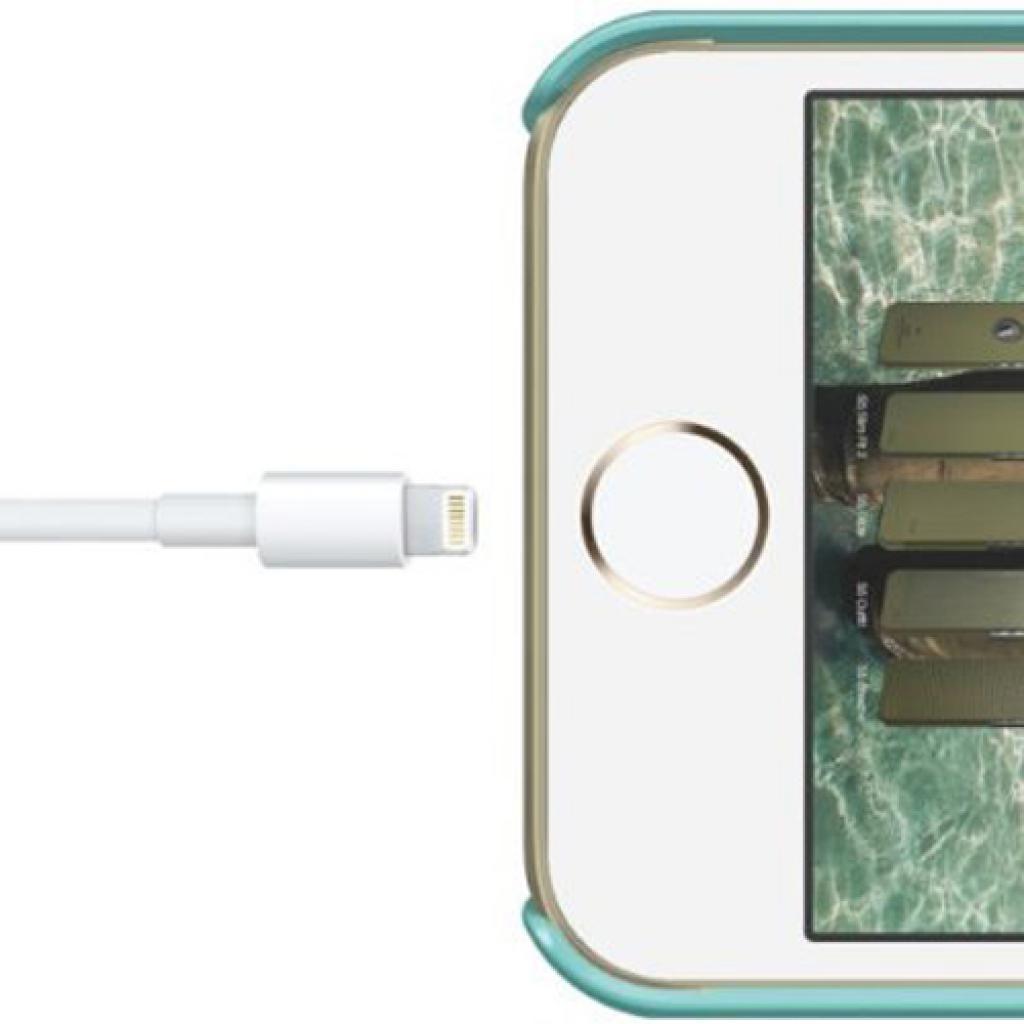 Чехол для моб. телефона ELAGO для iPhone 5/5S /Slim Fit Glossy/Coral Blue (ELS5SM-SFGD-RT) изображение 6