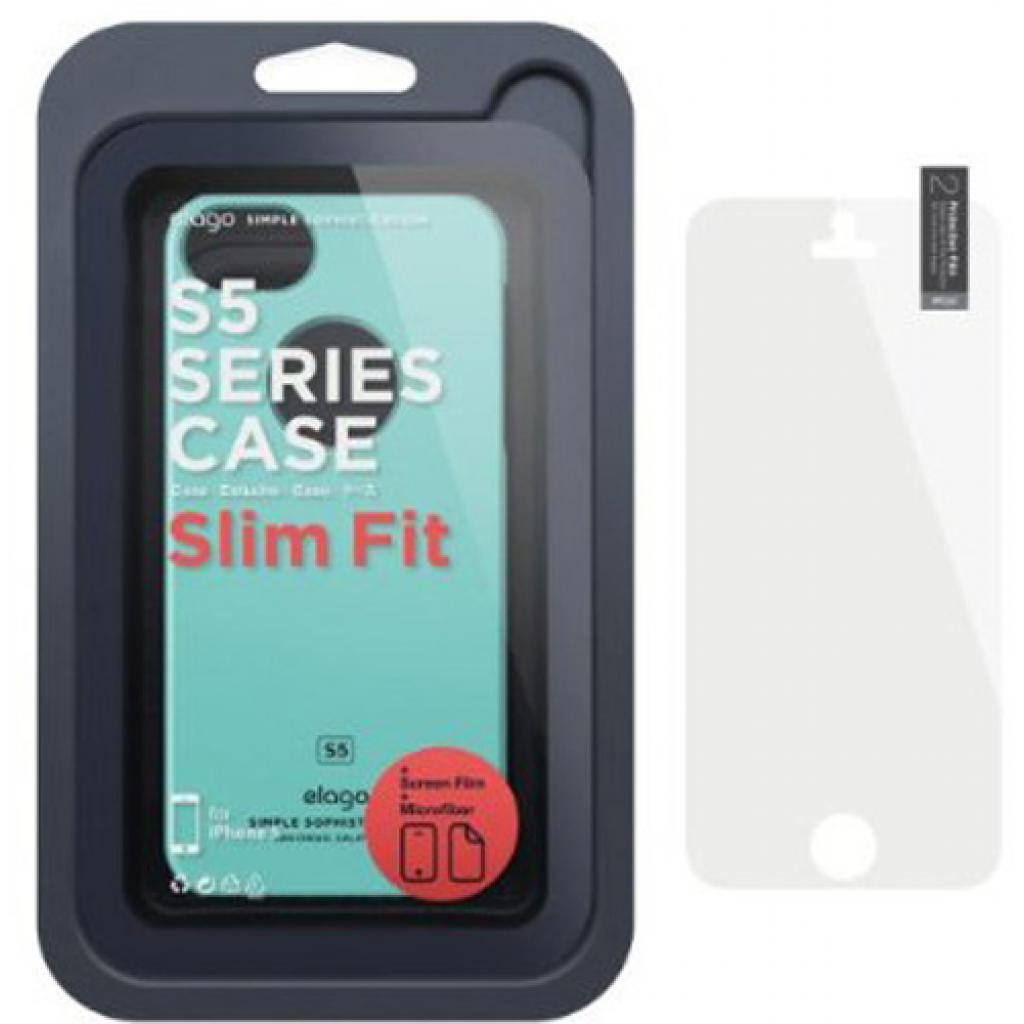 Чехол для моб. телефона ELAGO для iPhone 5/5S /Slim Fit Glossy/Coral Blue (ELS5SM-SFGD-RT) изображение 7