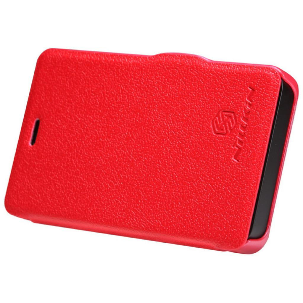 Чехол для моб. телефона NILLKIN для Nokia 501 /Fresh/ Leather/Red (6076876) изображение 2