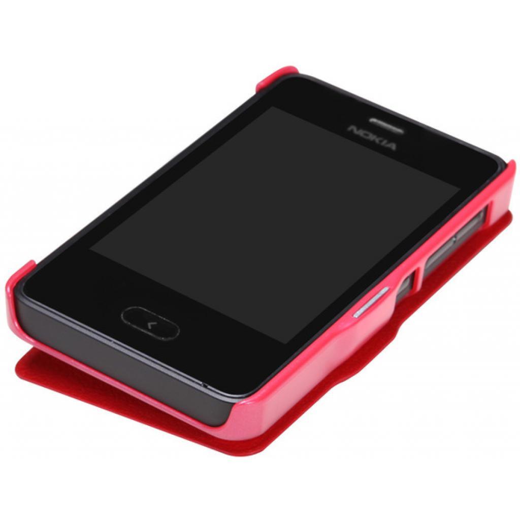 Чехол для моб. телефона NILLKIN для Nokia 501 /Fresh/ Leather/Red (6076876) изображение 3