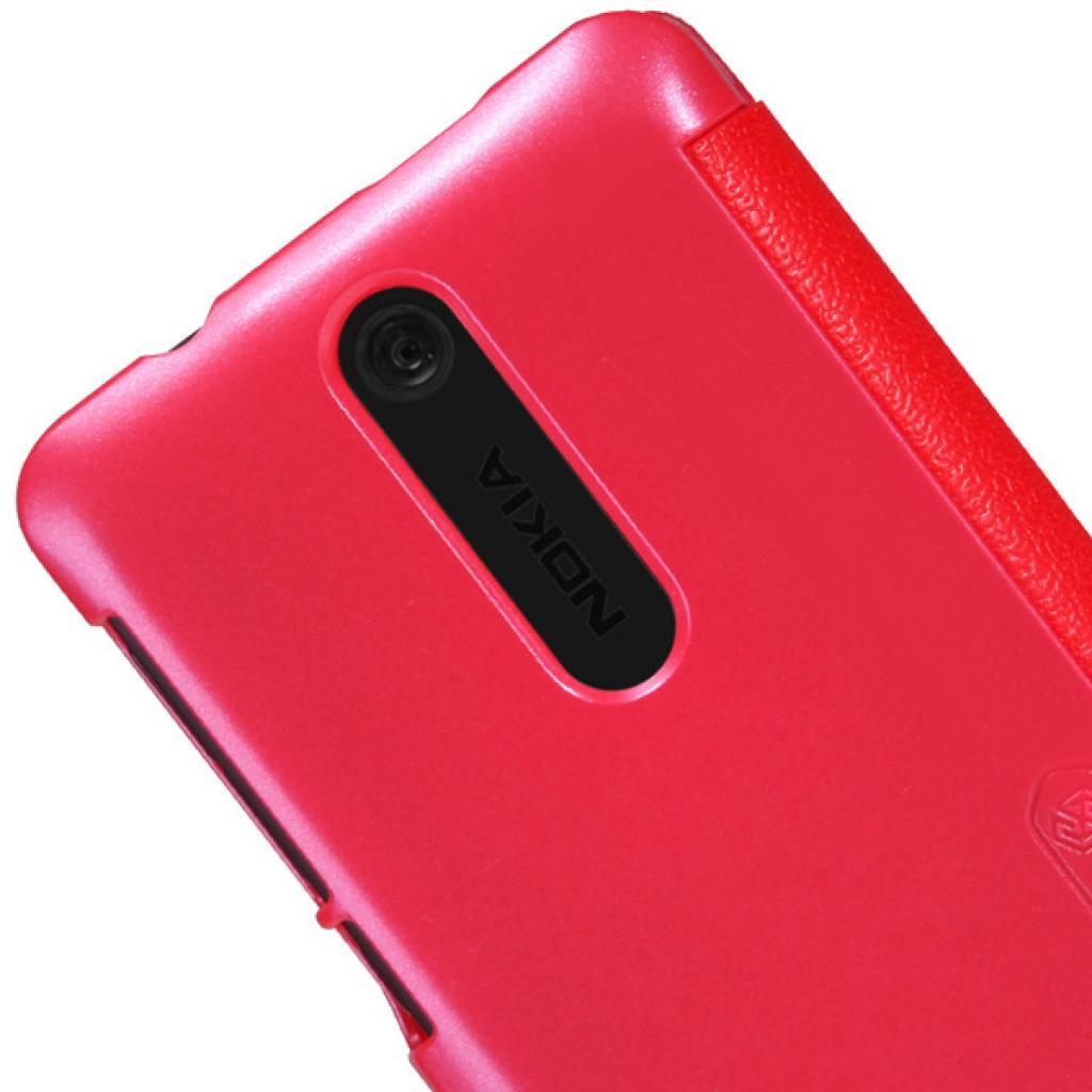 Чехол для моб. телефона NILLKIN для Nokia 501 /Fresh/ Leather/Red (6076876) изображение 4