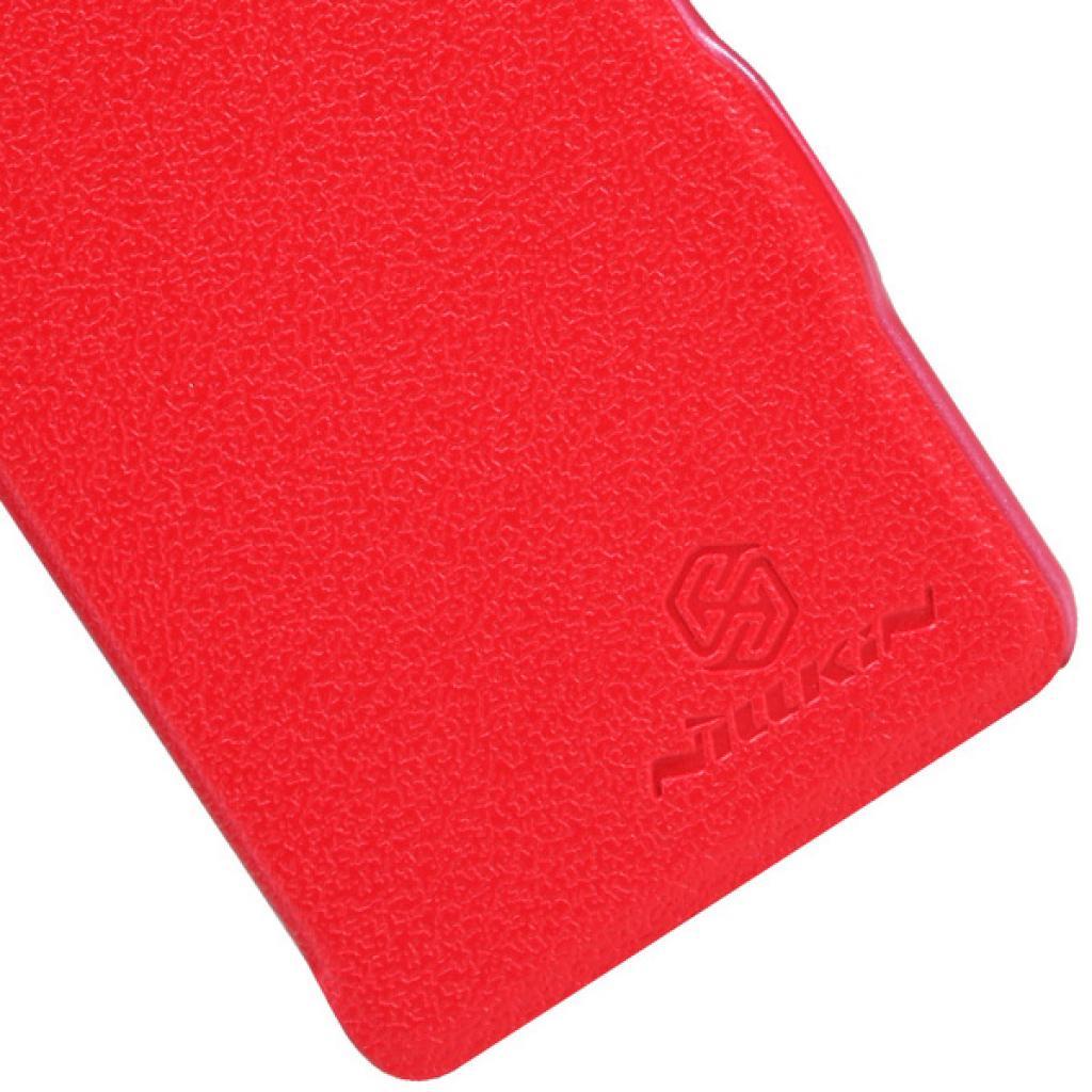 Чехол для моб. телефона NILLKIN для Nokia 501 /Fresh/ Leather/Red (6076876) изображение 5