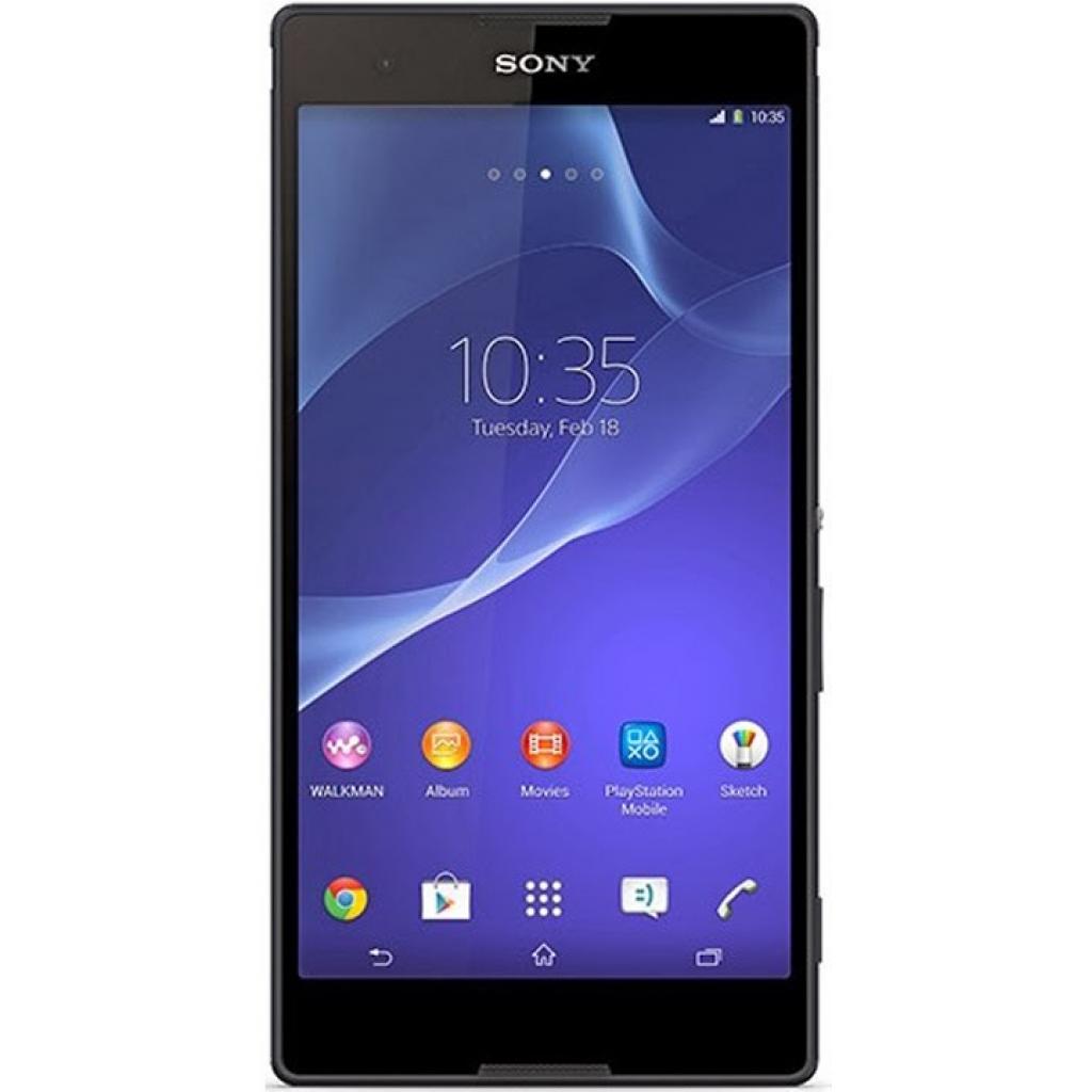Мобильный телефон SONY D5322 Black (Xperia T2 Ultra DualSim) (1280-7260)