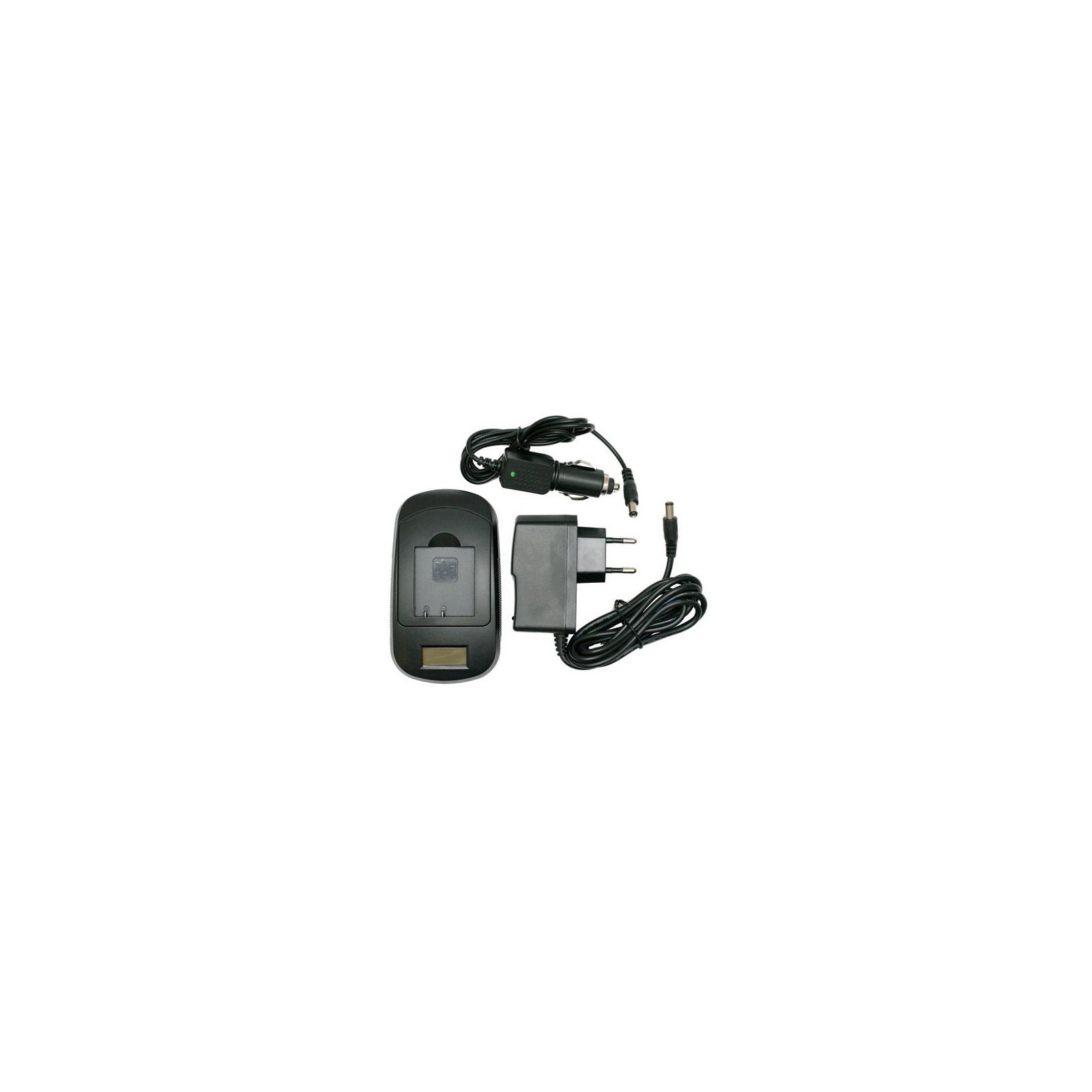Зарядное устройство для фото EXTRADIGITAL Canon NB-4L, NB-8L, Samsung BP125A (LCD) (DV0LCD2005)