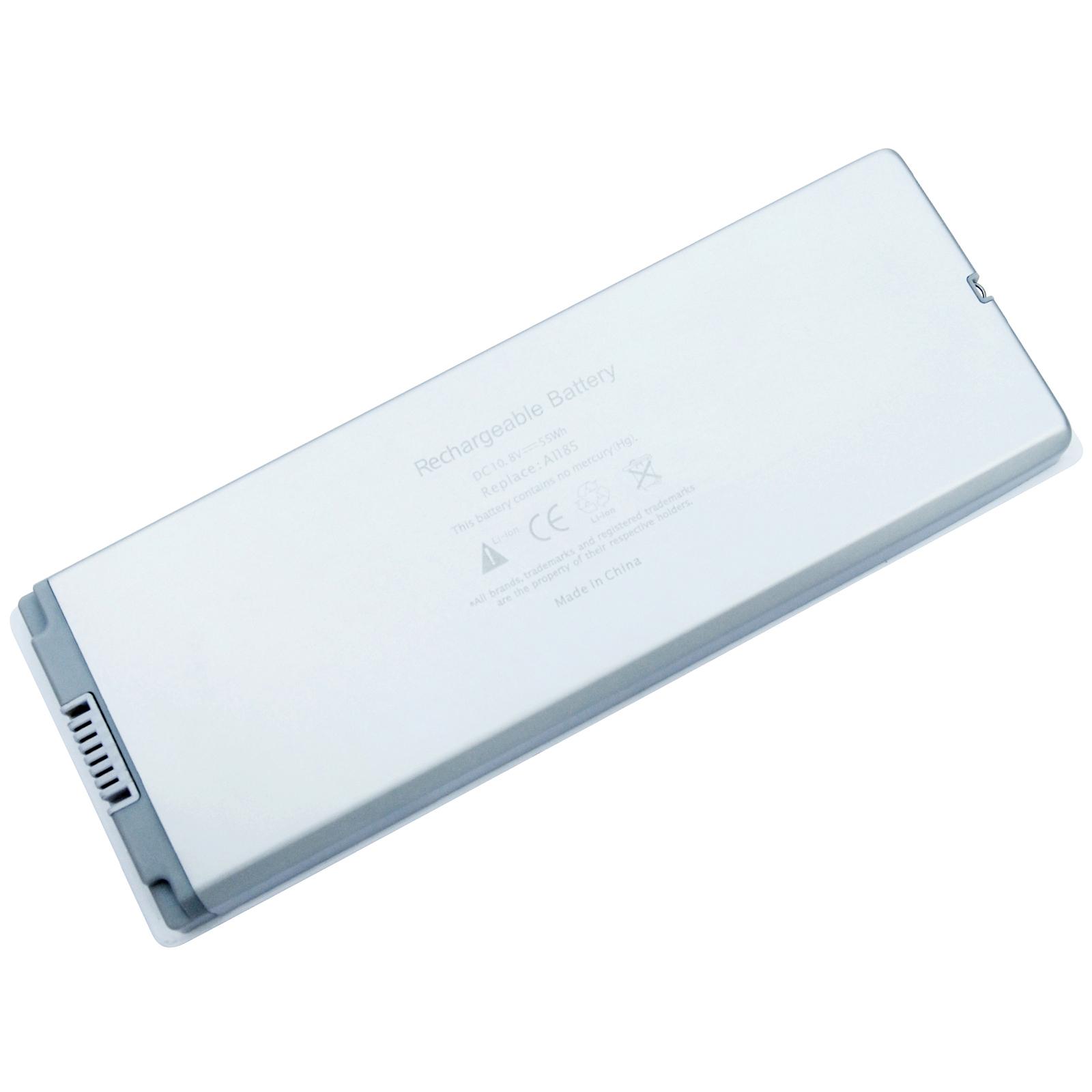 "Аккумулятор для ноутбука APPLE MacBook 13"" White (A1185) 10,8V 5200mAh PowerPlant (NB00000071)"