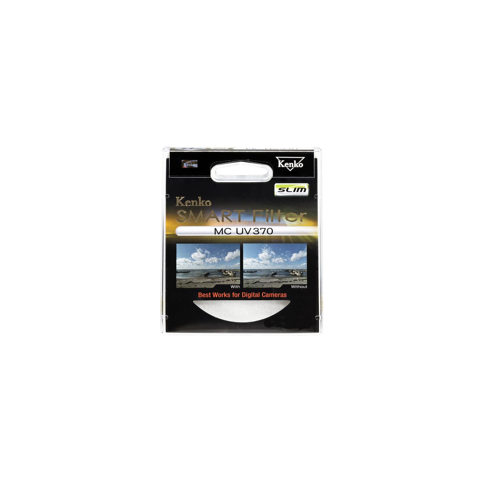 Светофильтр Kenko MC UV 370 SLIM 58mm (215898) изображение 2