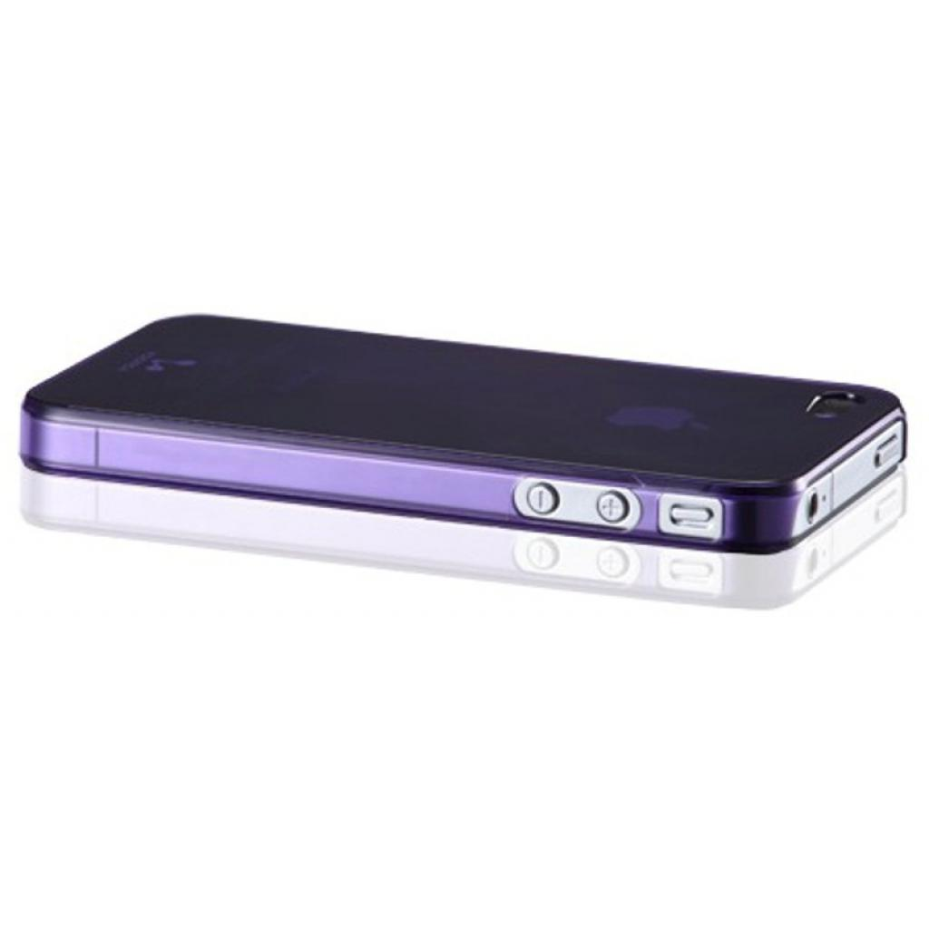 Чехол для моб. телефона VOORCA iPhone4 Smoky case аметист (фiолет) (V-4S Amethyst (Purple)) изображение 2