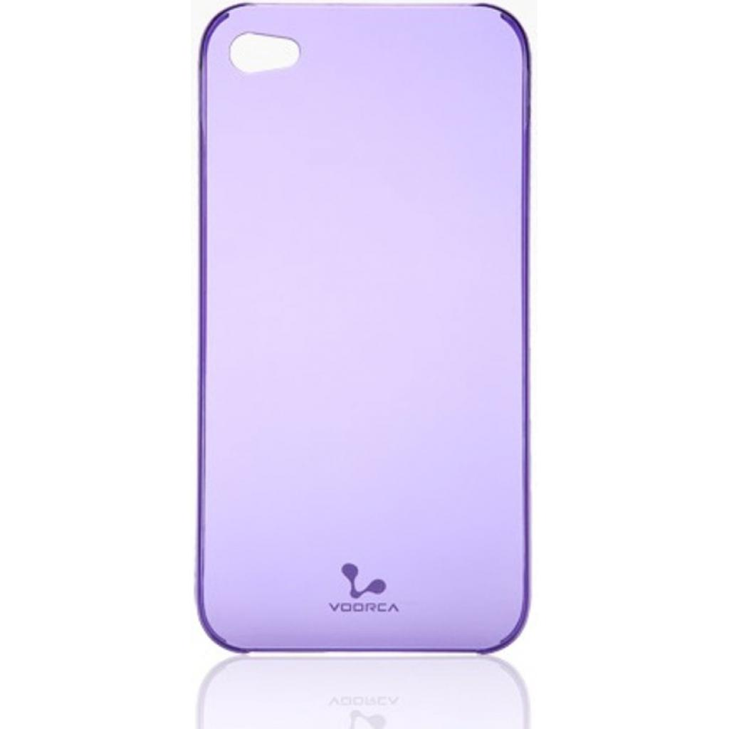 Чехол для моб. телефона VOORCA iPhone4 Smoky case аметист (фiолет) (V-4S Amethyst (Purple))