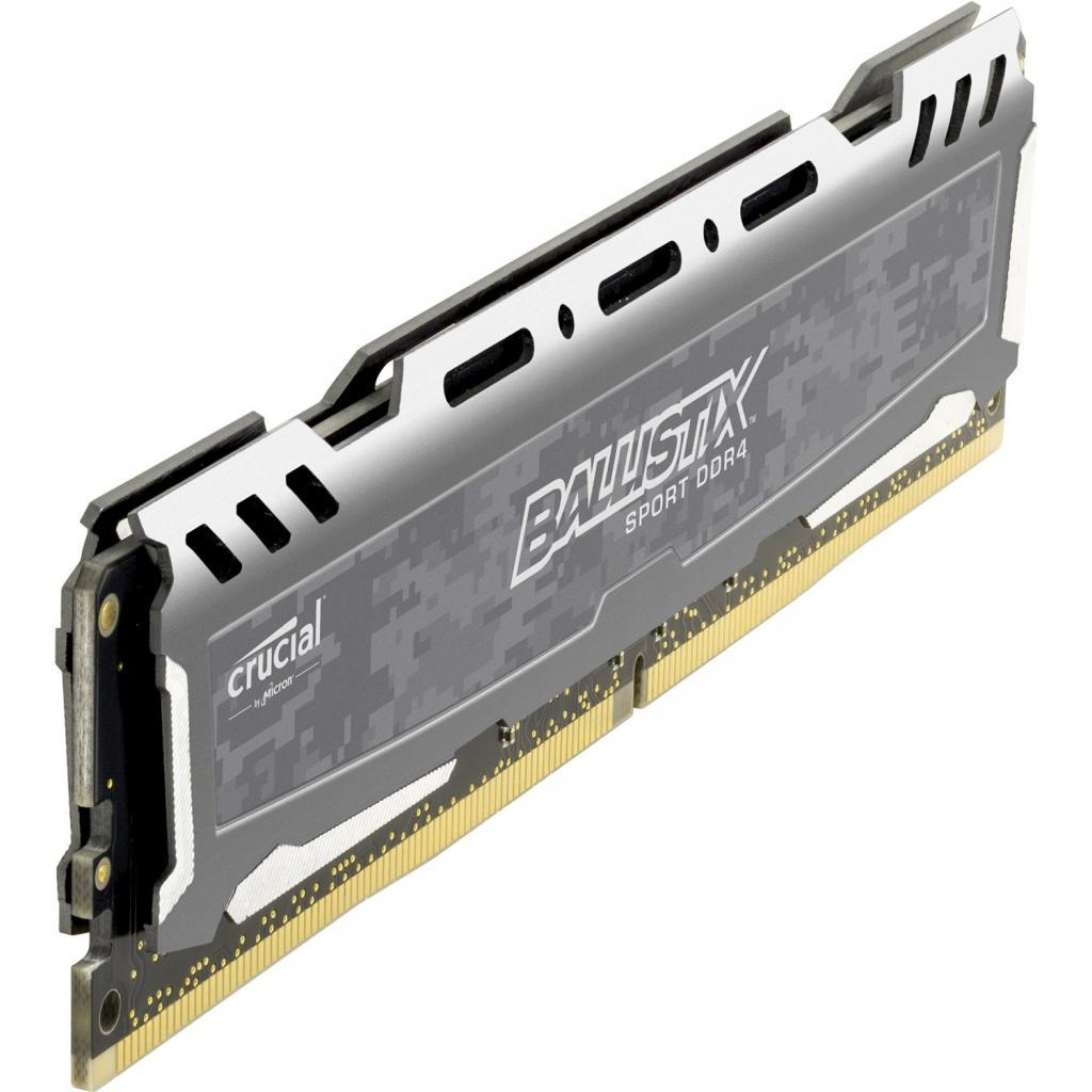 Модуль памяти для компьютера DDR4 8GB (2x4GB) 2400 MHz Ballistix Sport MICRON (BLS2C4G4D240FSB) изображение 2