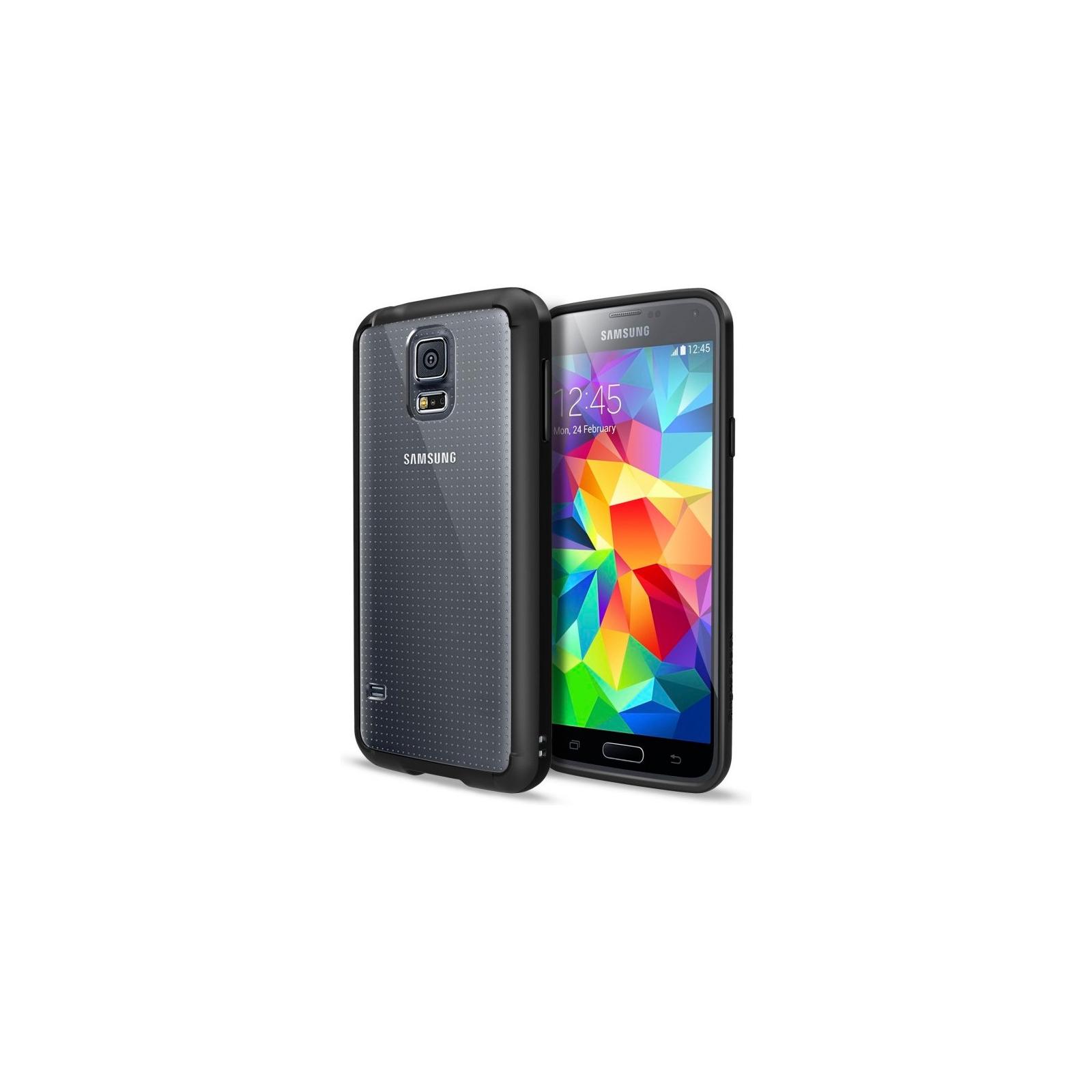 Чехол для моб. телефона Ringke Fusion для Samsung Galaxy S5 (Black) (156919) изображение 2