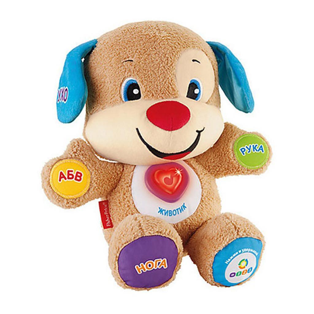 Развивающая игрушка Fisher-Price Умный щенок с технологией Smart Stages (укр.яз) (DKK14)