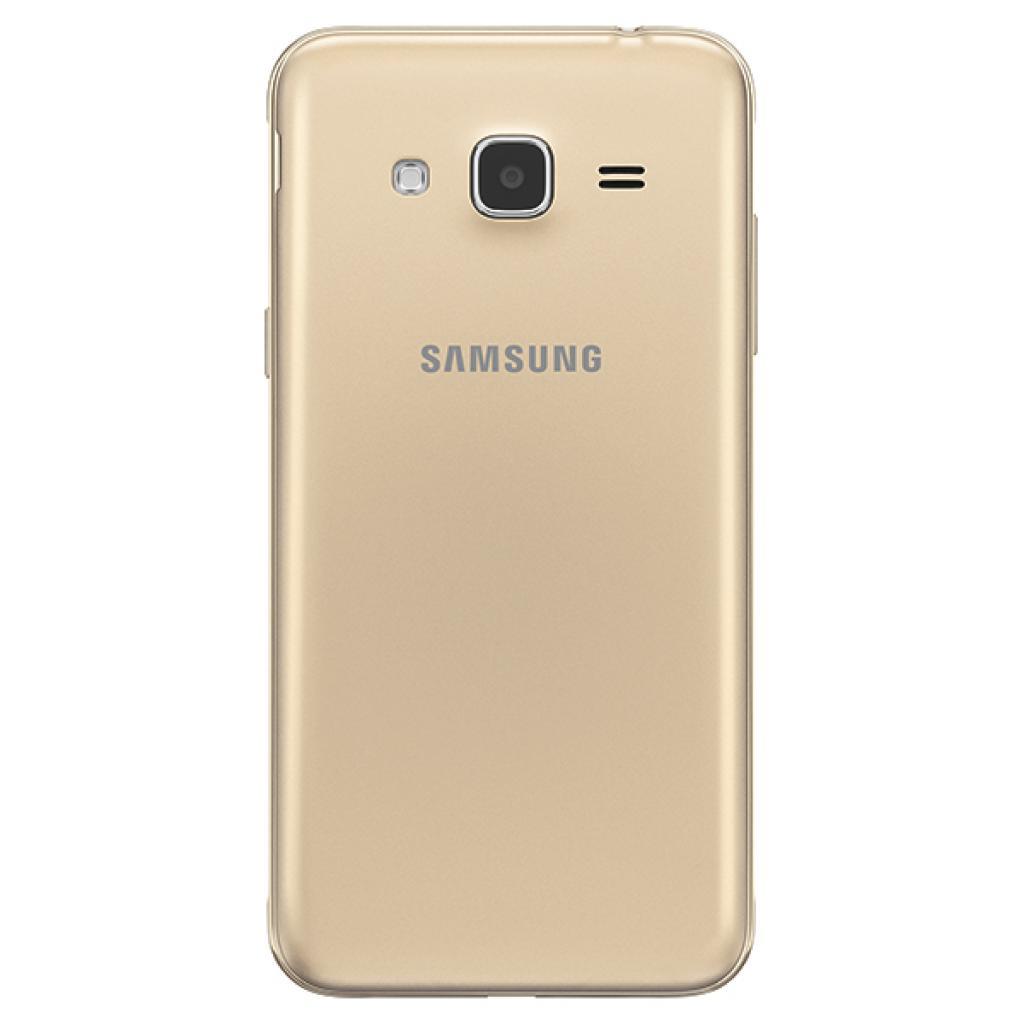 Мобильный телефон Samsung SM-J320H (Galaxy J3 2016 Duos) Gold (SM-J320HZDDSEK) изображение 2