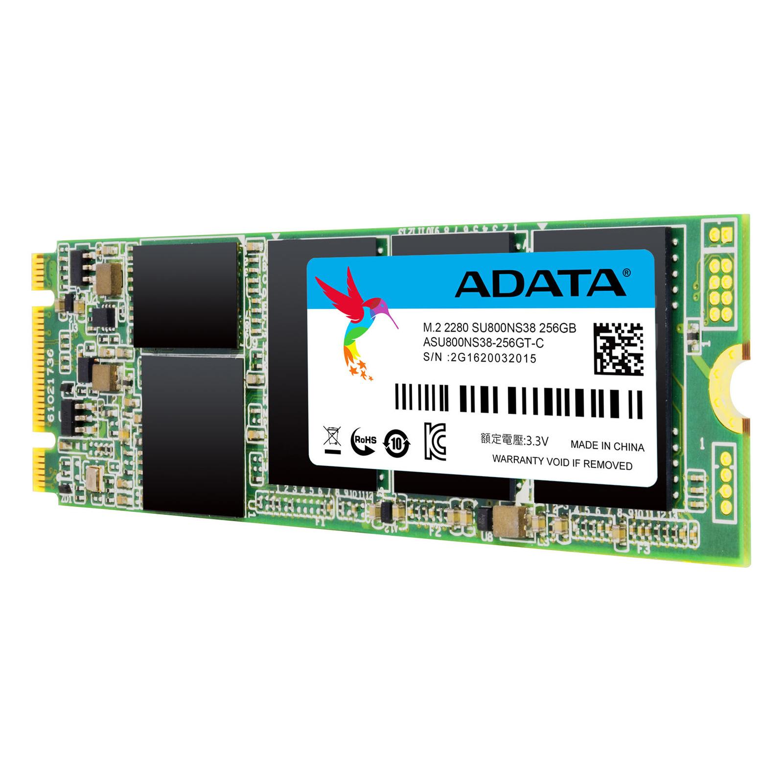 Накопитель SSD M.2 2280 1TB ADATA (ASU800NS38-1TT-C) изображение 3