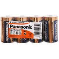 Батарейка PANASONIC D LR20 Alkaline Power (Shrink) * 4 (LR20АРВ/4P / LR20REB/4P)