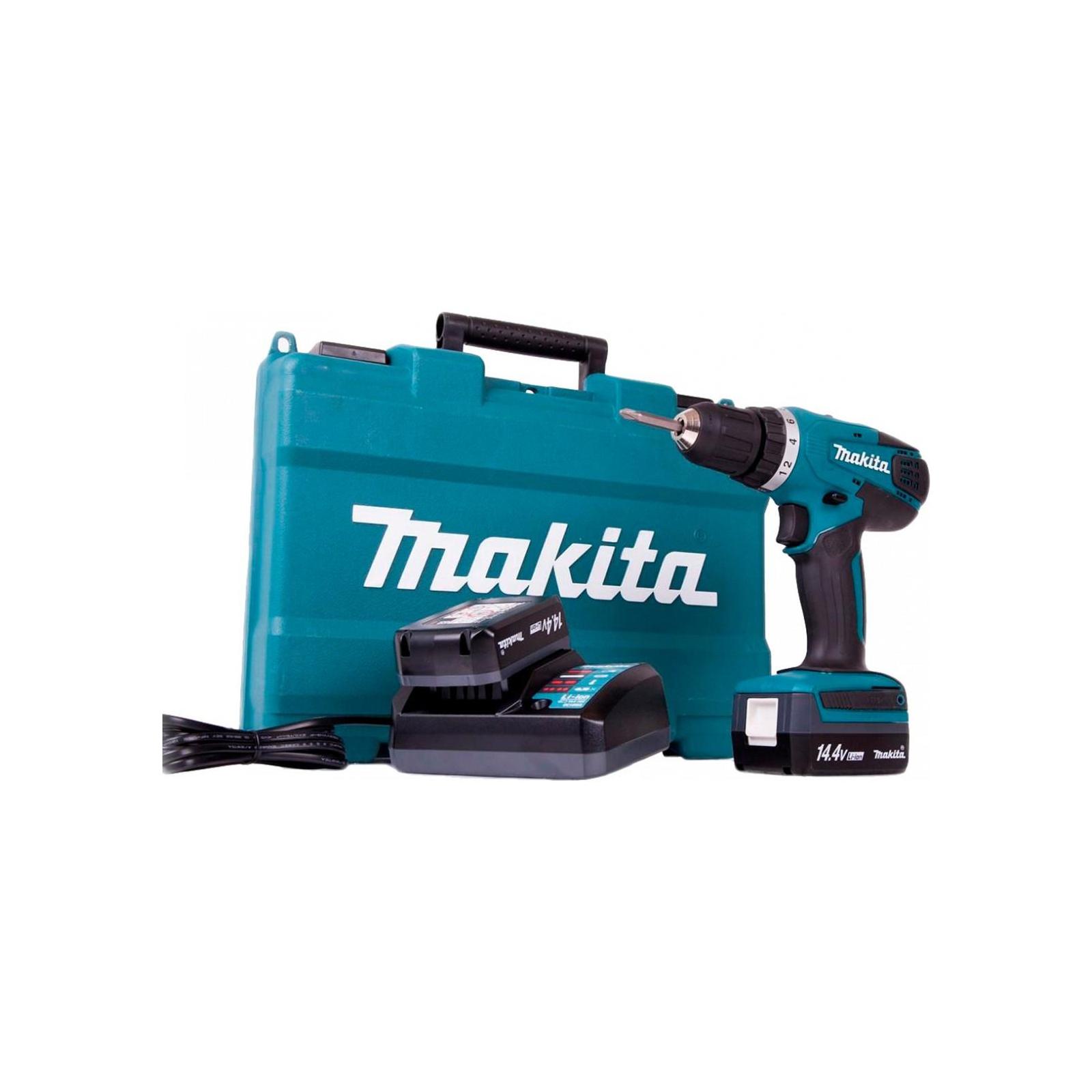 Шуруповерт Makita DF347DWE, 14,4В G-battery, 1,3Аг, 30 / 15Нм (DF347DWE) изображение 2
