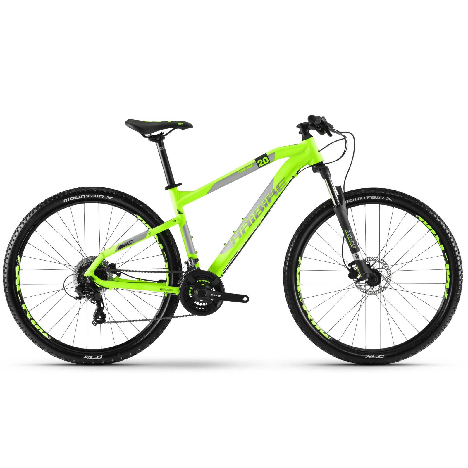 "Велосипед Haibike SEET HardNine 2.0 29"", рама 55см, 2018, лайм (4100096855)"