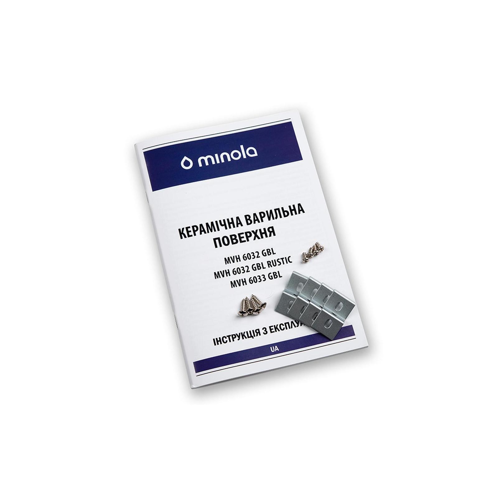 Варочная поверхность MINOLA MVH 6033 GBL изображение 9