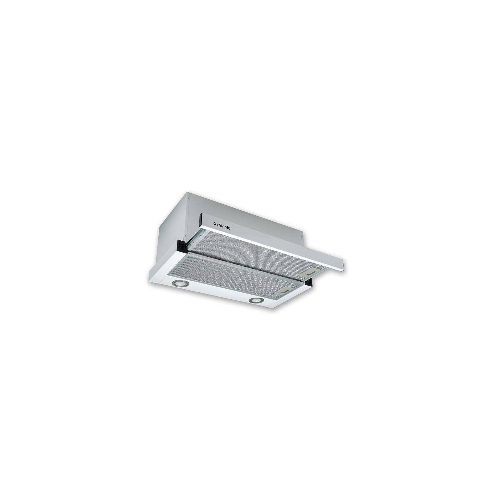 Вытяжка кухонная MINOLA HTL 6812 WH 1200 LED изображение 2