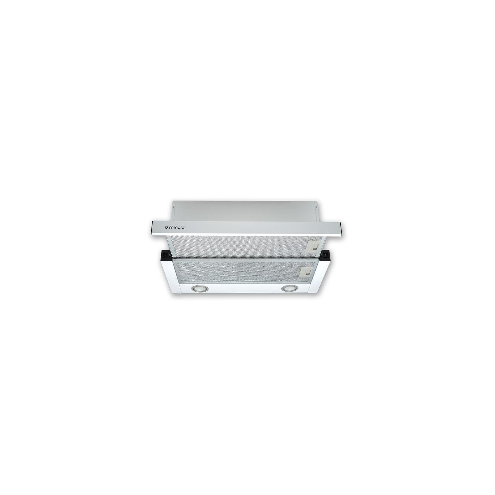 Вытяжка кухонная MINOLA HTL 6812 WH 1200 LED