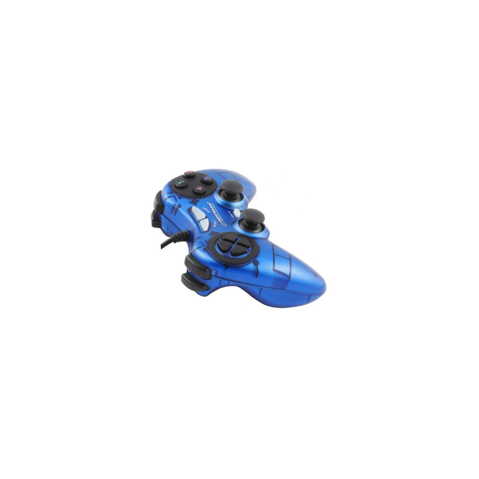 Геймпад Esperanza Fighter PC Blue (EGG105B) изображение 2