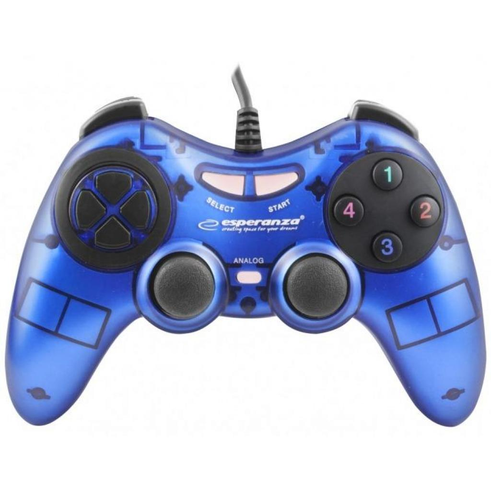 Геймпад Esperanza Fighter PC Blue (EGG105B) изображение 3