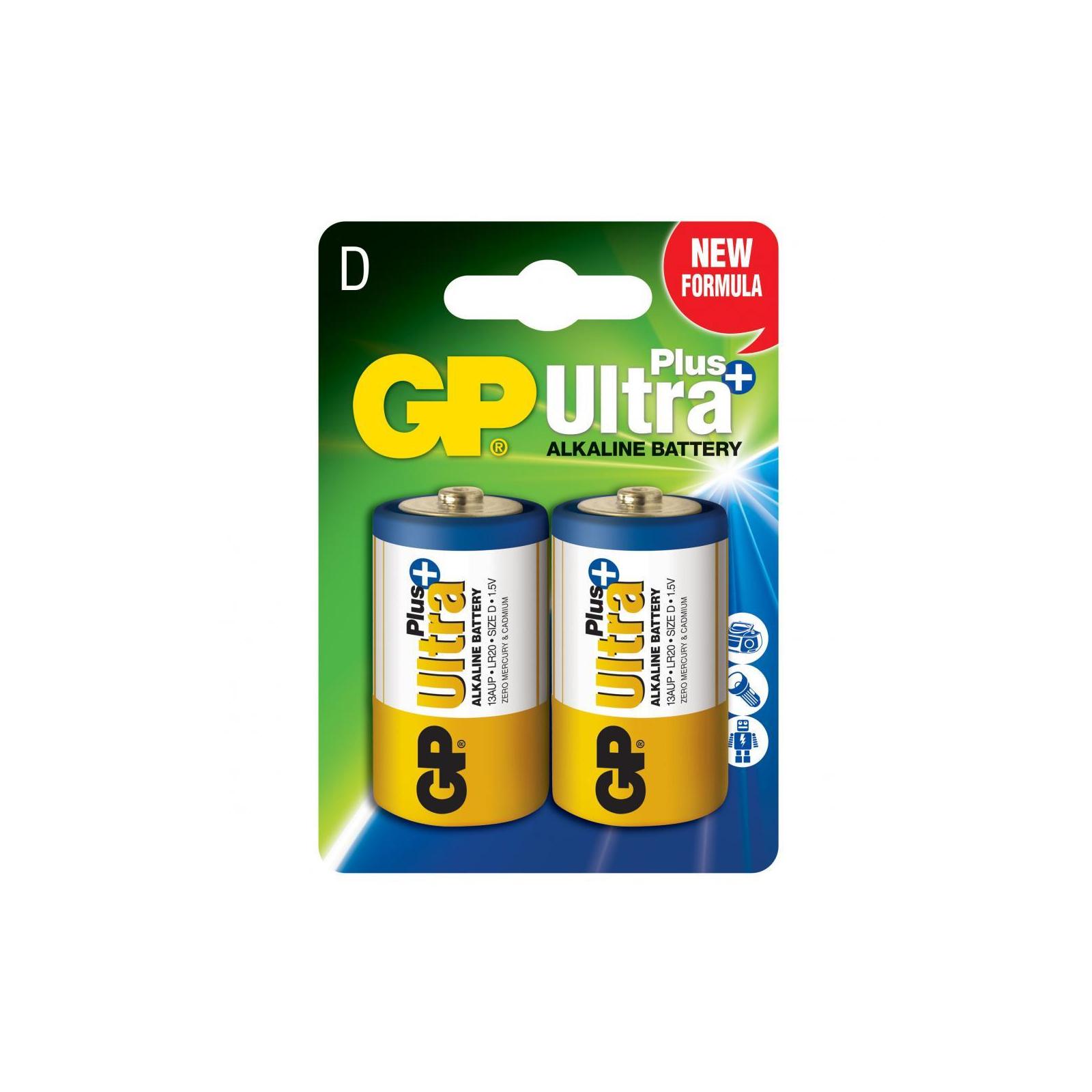 Батарейка GP D GP Ultra Plus LR20 * 2 (13AUP-U2)