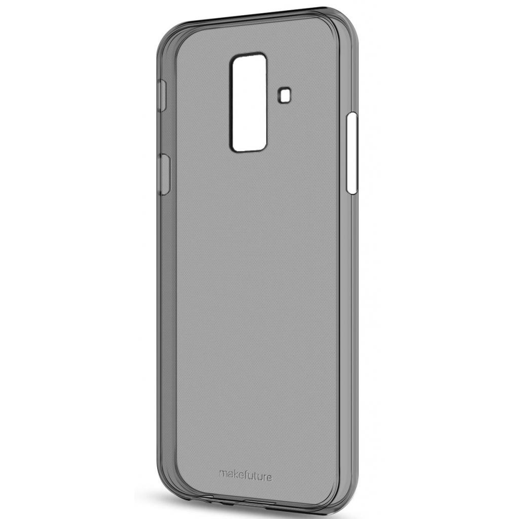Чехол для моб. телефона MakeFuture Air Case (Clear TPU) Samsung A6 Plus 2018 Black (MCA-SA618PBK)