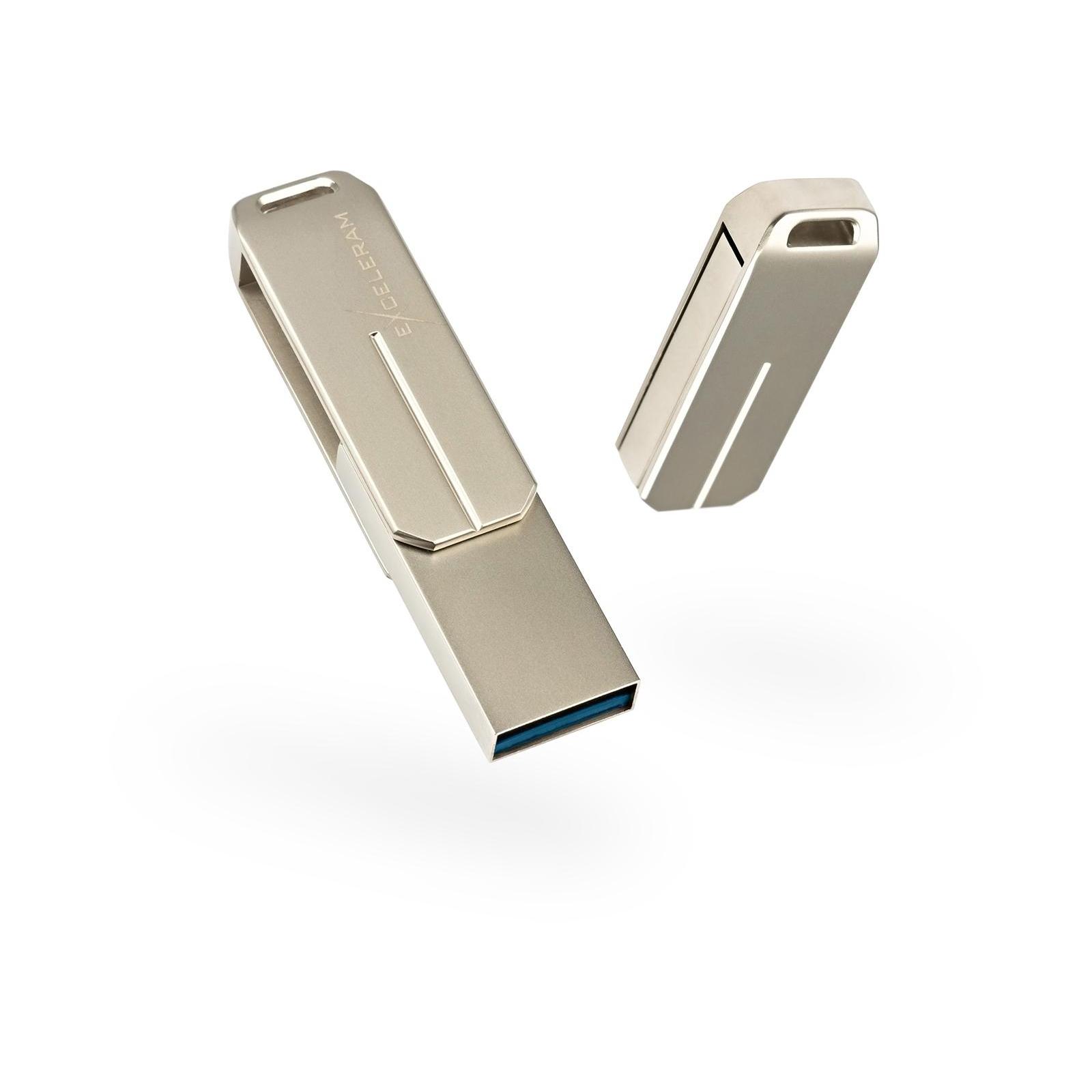 USB флеш накопитель eXceleram 128GB U3 SeriesSilver USB 3.1 Gen 1 (EXP2U3U3S128)