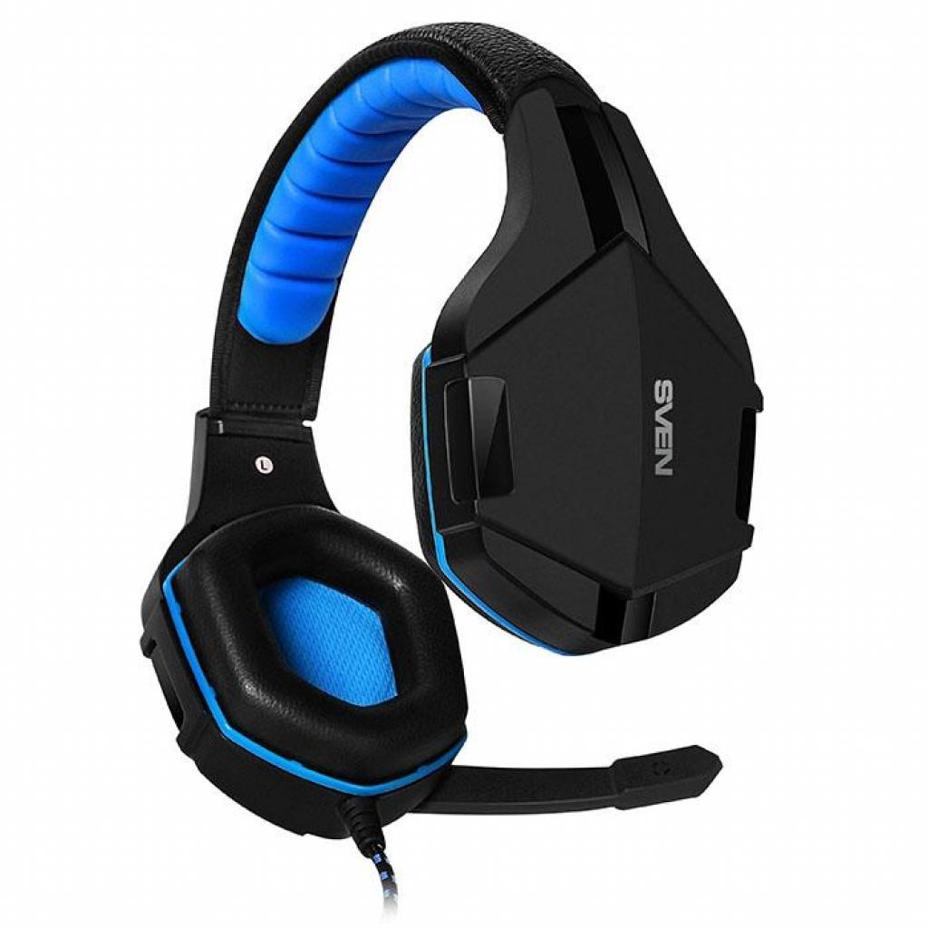 Наушники SVEN AP-G851MV black-blue изображение 2