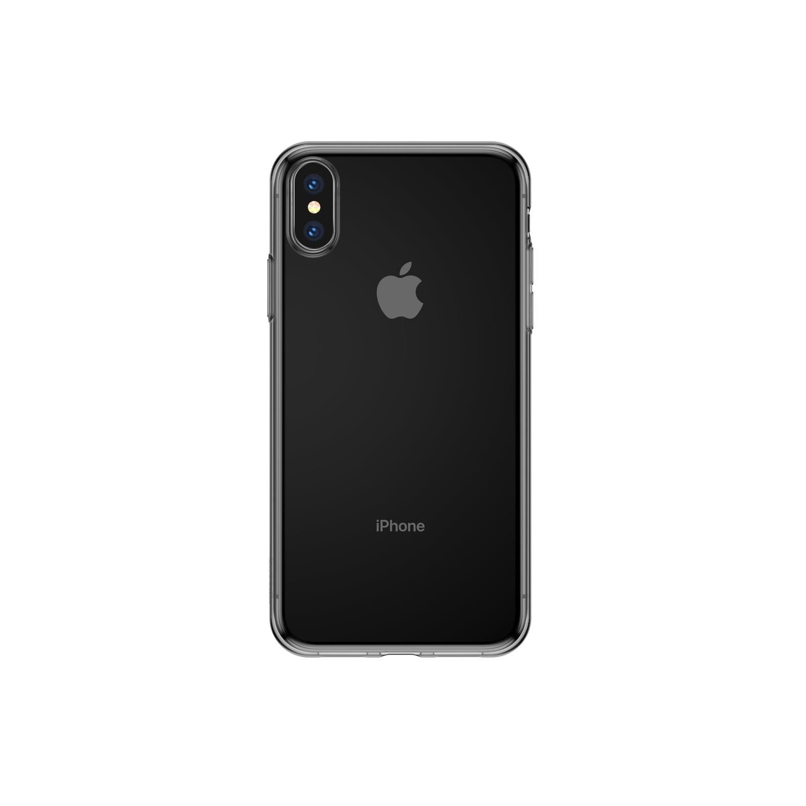 Чохол до моб. телефона Baseus iPhone XS Simplicity basic, TR Black (ARAPIPH58-B01)