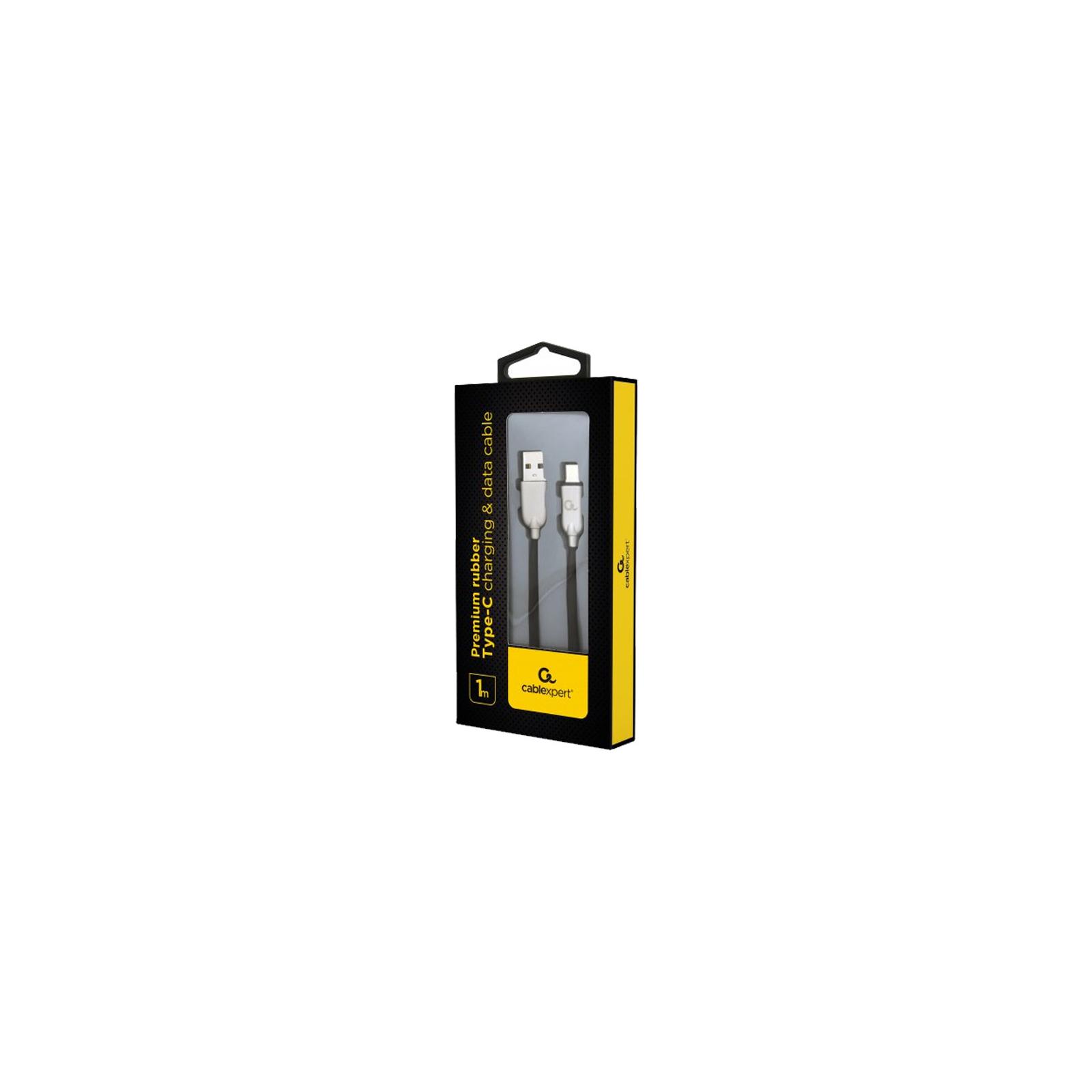 Дата кабель USB 2.0 AM to Type-C 1.0m Cablexpert (CC-USB2R-AMCM-1M-R) изображение 2