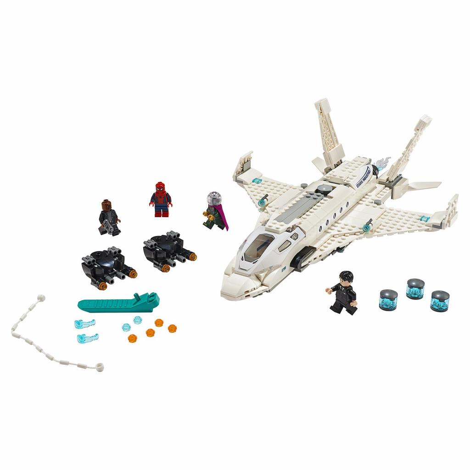 Конструктор LEGO Super Heroes Реактивный самолёт Старка и атака дрона (76130) изображение 2
