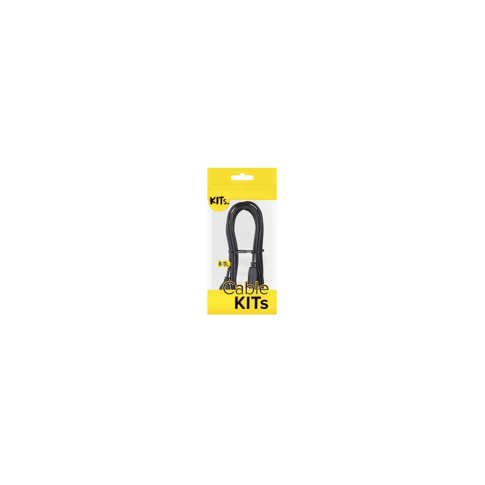 Кабель для принтера USB 2.0 AM/BM 1.8m Kit (KITS-W-006) изображение 2