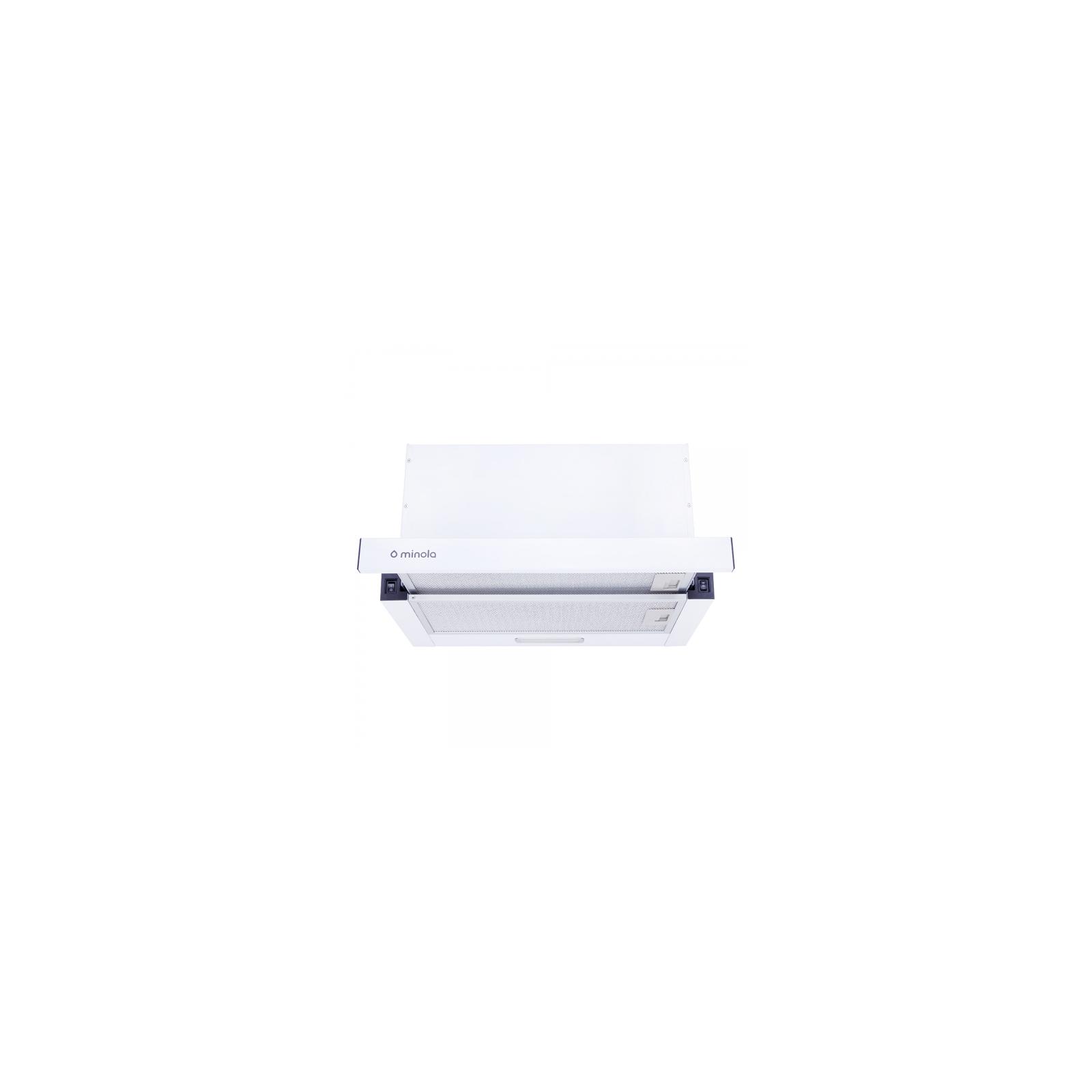 Вытяжка кухонная Minola HTL 5314 WH 750 LED