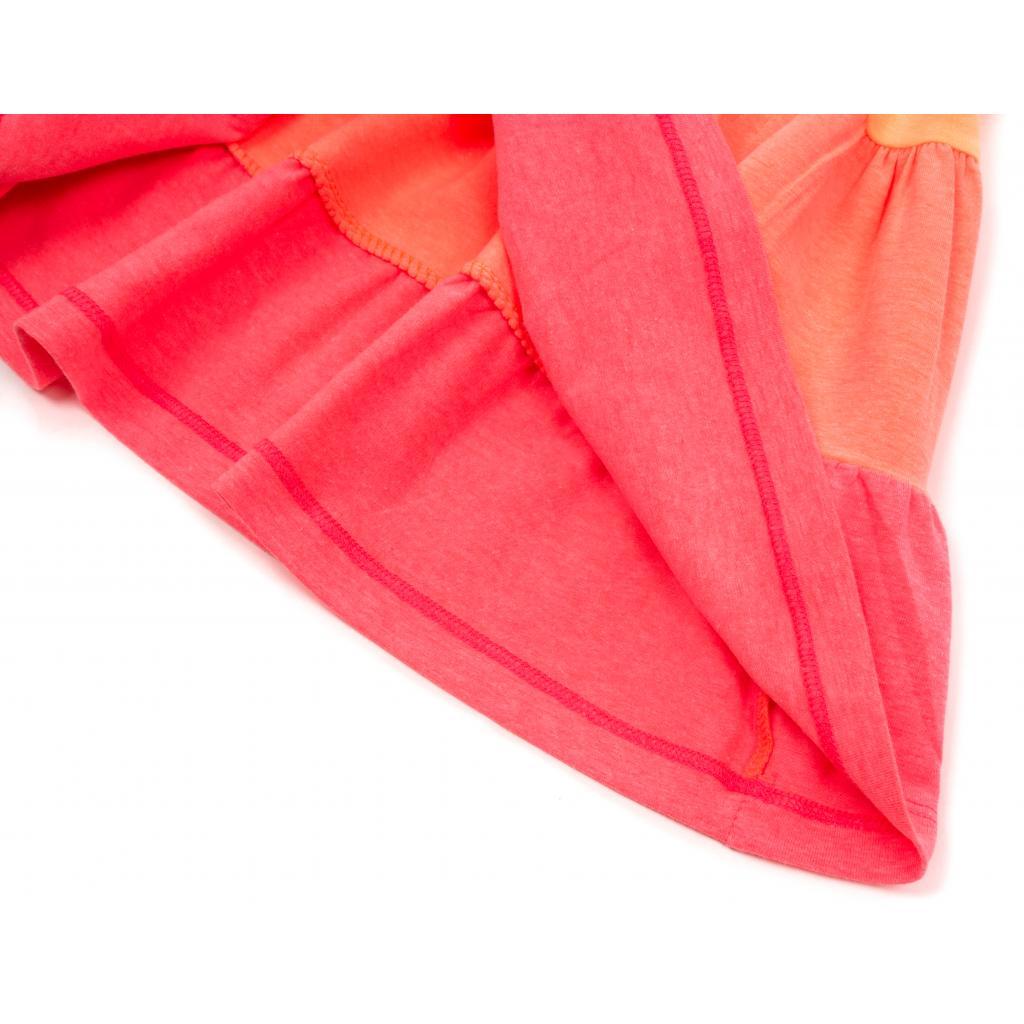 Платье Lovetti с оборками (9241-116G-orange) изображение 4