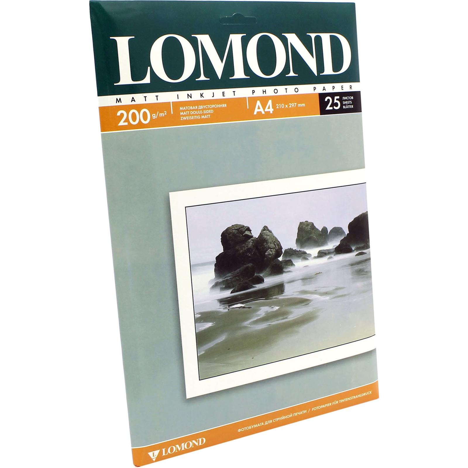 Бумага Lomond A4 Photo Paper Matt 200 (0102052)