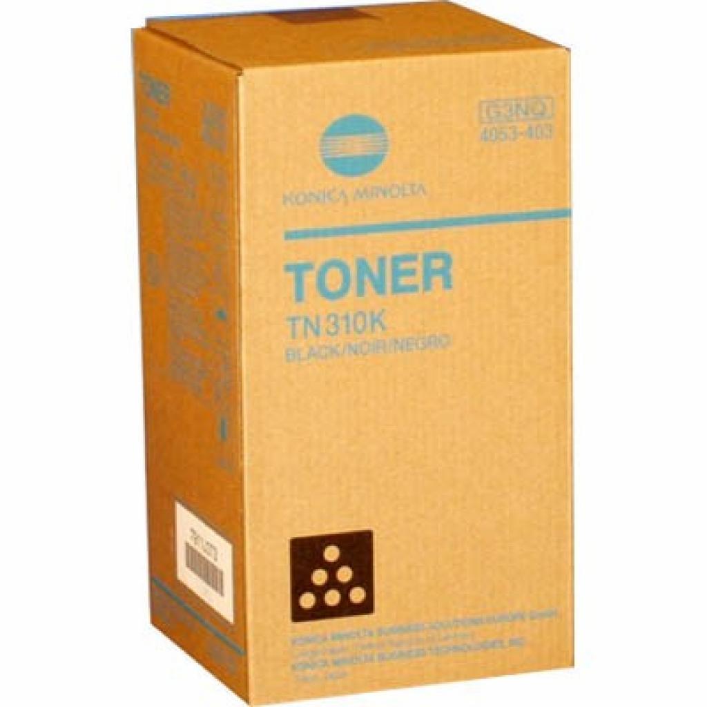 Тонер KONICA MINOLTA TN-310K Black /Bizhub C350/450 (4053403)