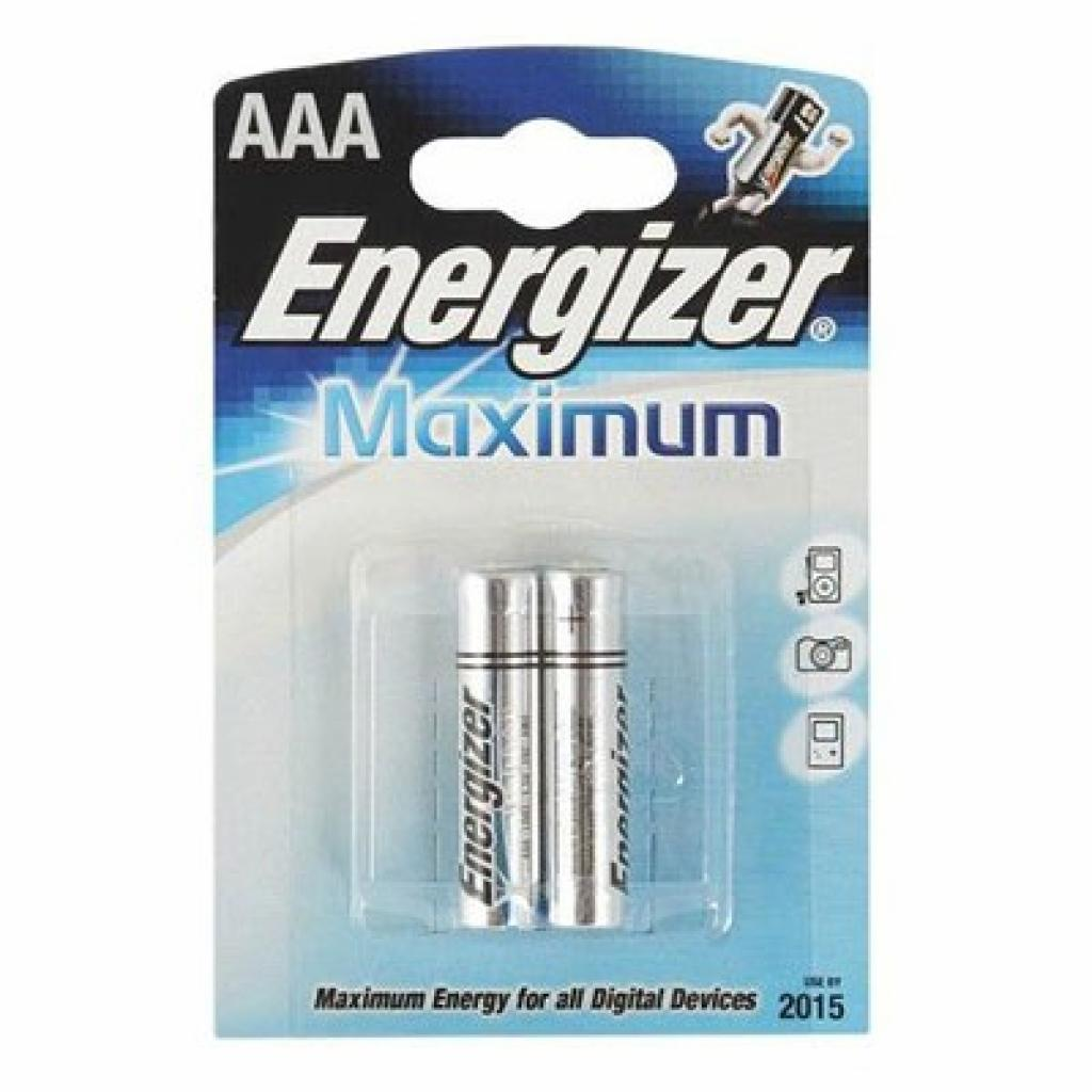 Батарейка AAA Maximum LR3 * 2 Energizer (634135)