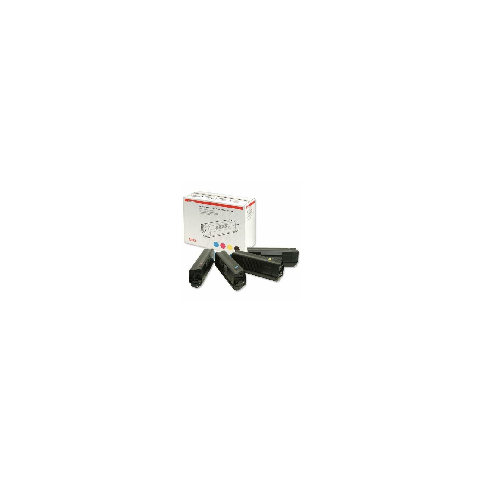 Тонер-картридж OKI C8600/8800 CMYK-kit (43698501)