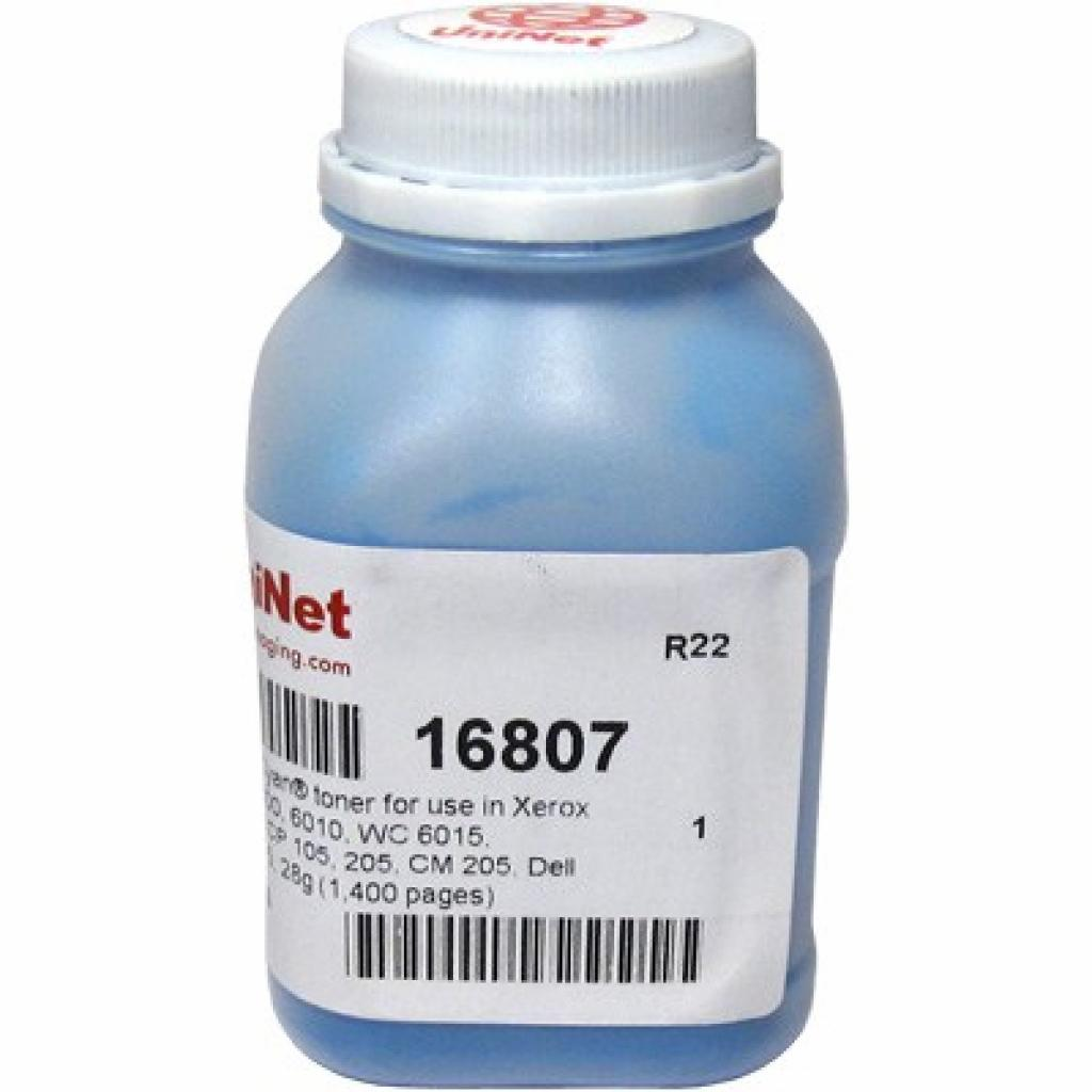 Тонер Uninet Xerox Ph6000/6010/WC6015/DocuPrint CP105/205/CM205 Cyan (16807)