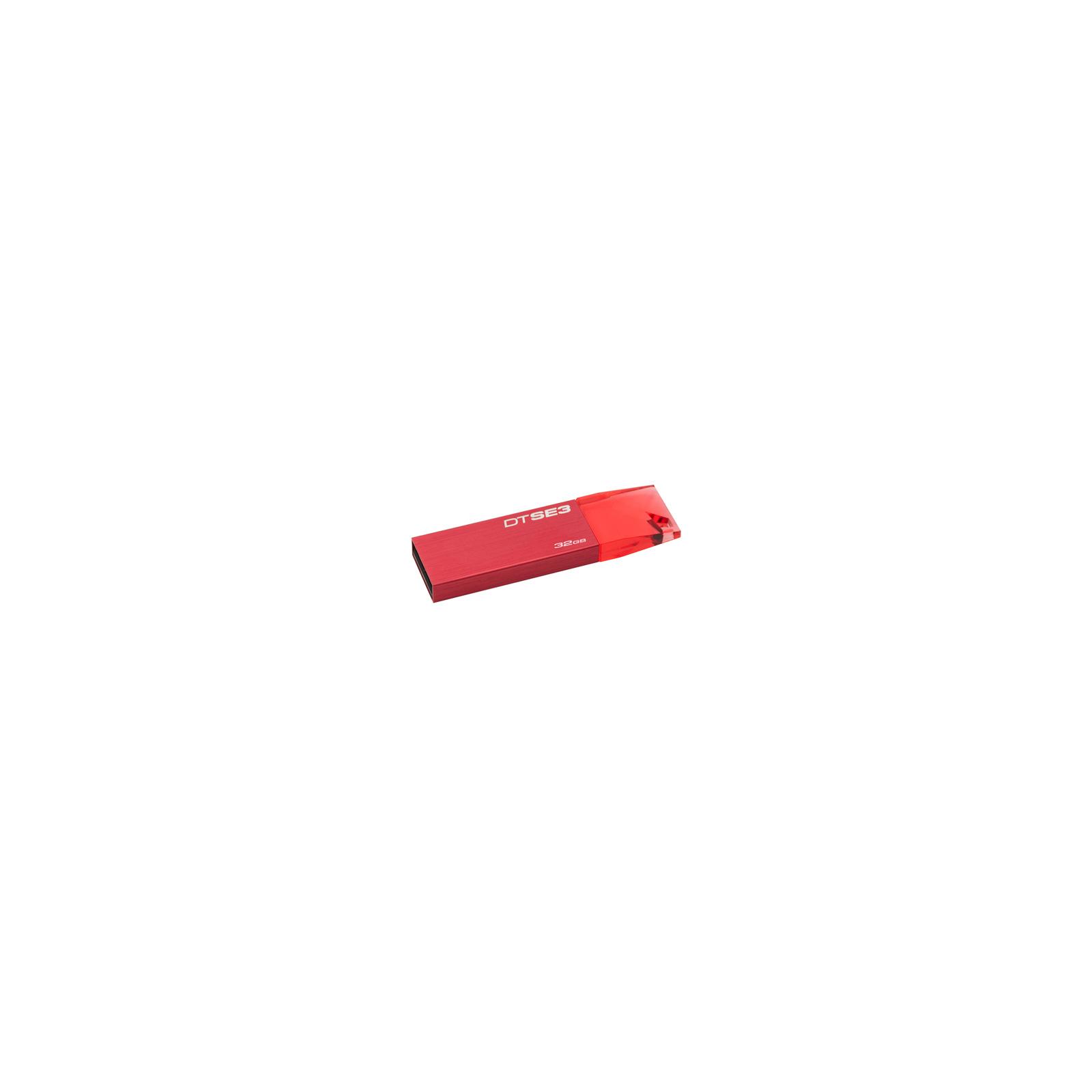 USB флеш накопитель Kingston 32Gb DataTraveler SE3 red (KC-U6832-3YR)