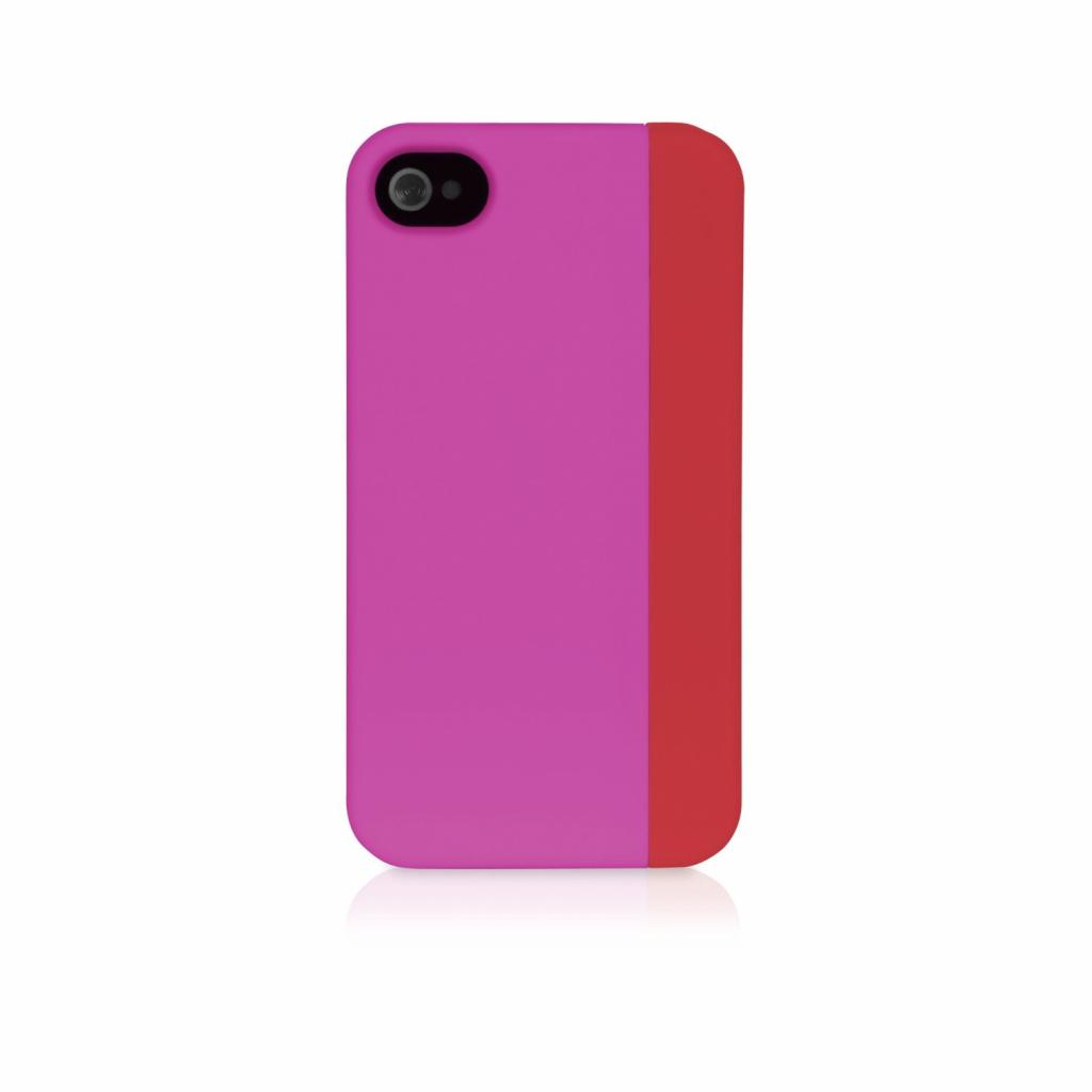 Чехол для моб. телефона XtremeMac для Apple iPhone 4 Microshield Slice Pink/Red (IPP-MSS4S-33)