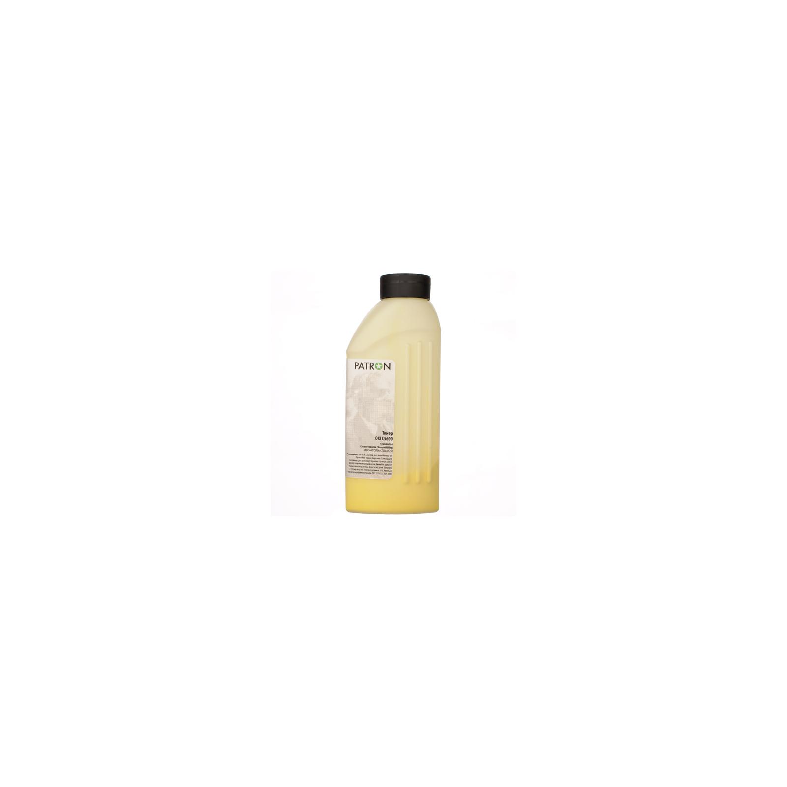 Тонер PATRON OKI C5600 YELLOW 50г (T-PN-OC5600-Y-050) изображение 2